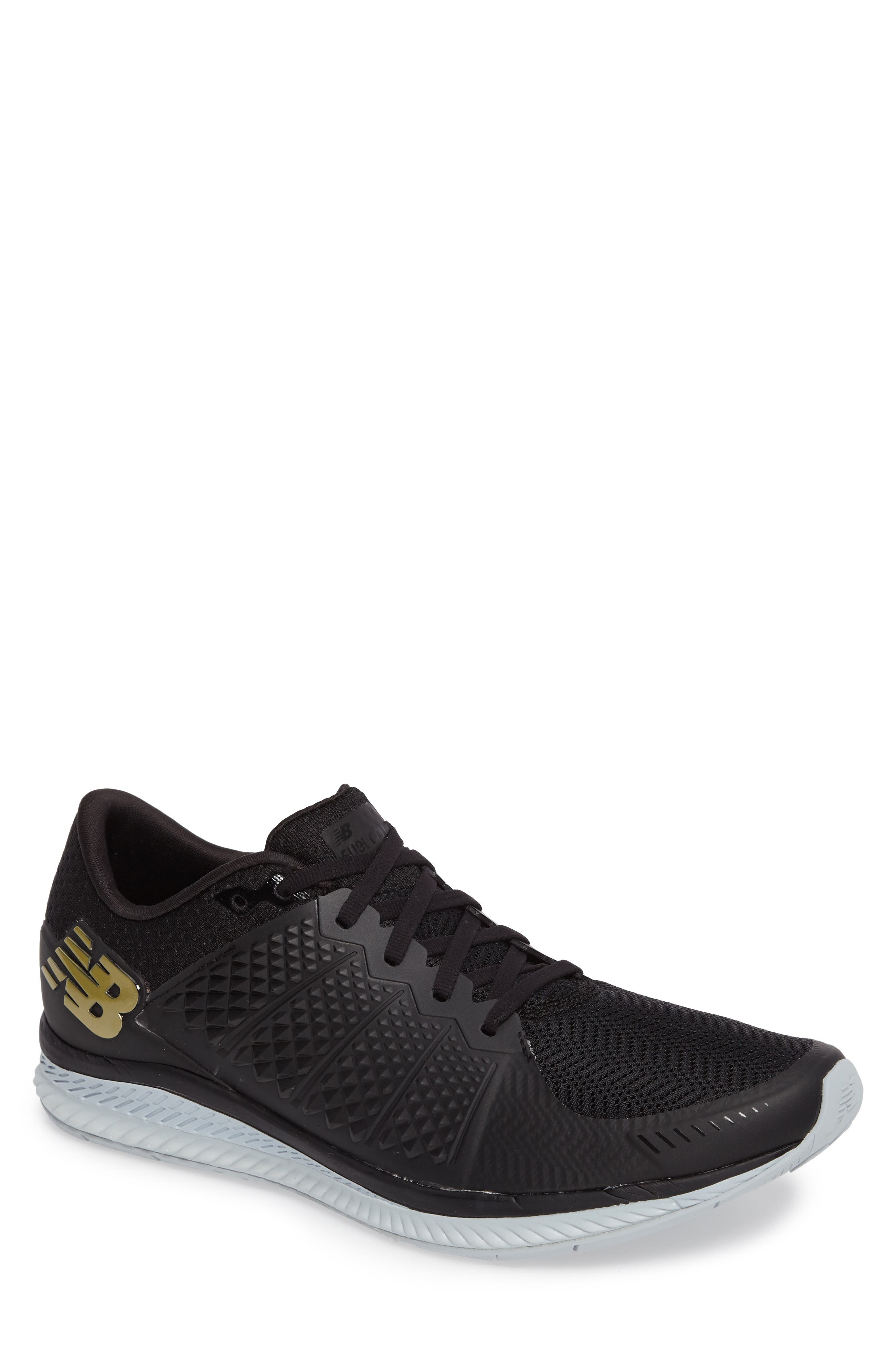 Vazee Fuel Cell Running Shoe,                             Main thumbnail 1, color,                             Black