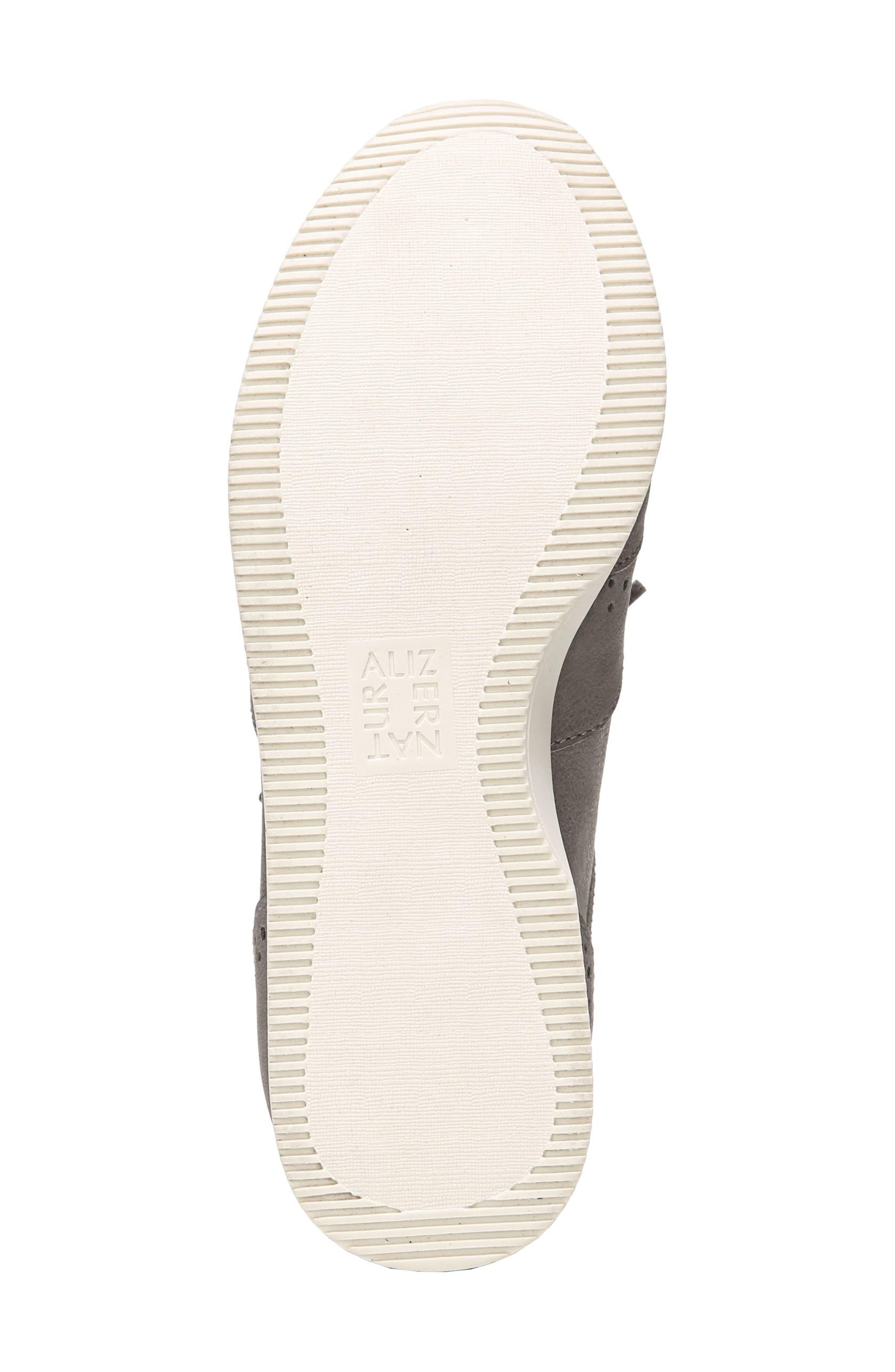 Jimi 2 Perforated Sneaker,                             Alternate thumbnail 6, color,                             Modern Grey Nubuck Leather