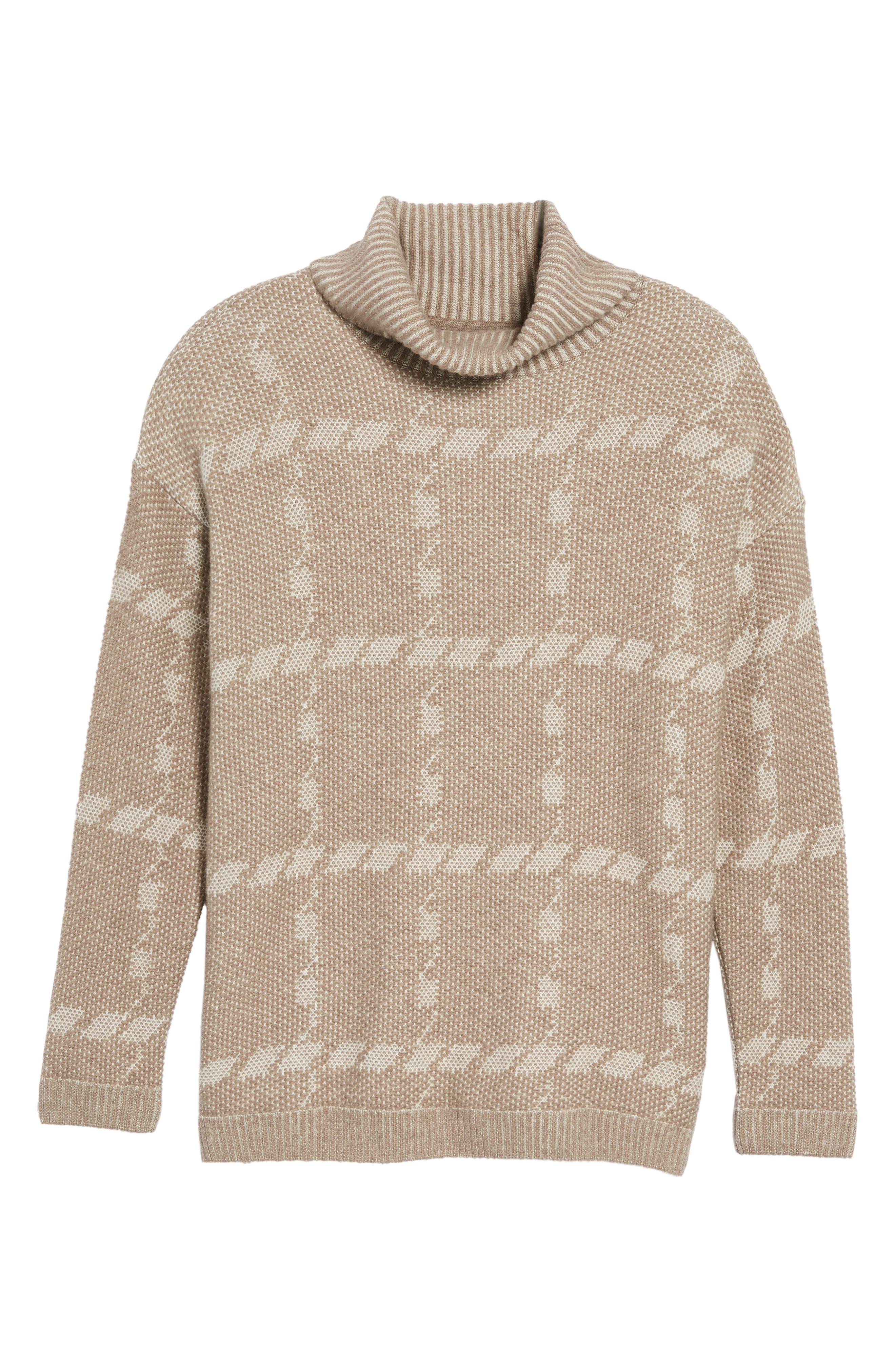 Alternate Image 6  - Barbour Glen Knit Merino Wool Blend Turtleneck Sweater