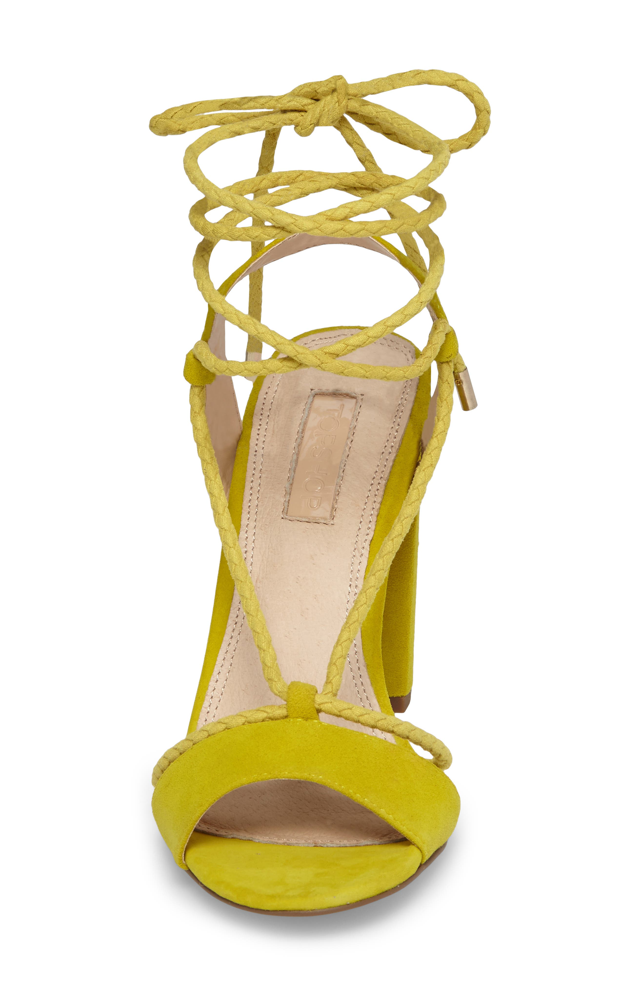 Alternate Image 4  - Topshop Reno Ankle Tie Sandal (Women)