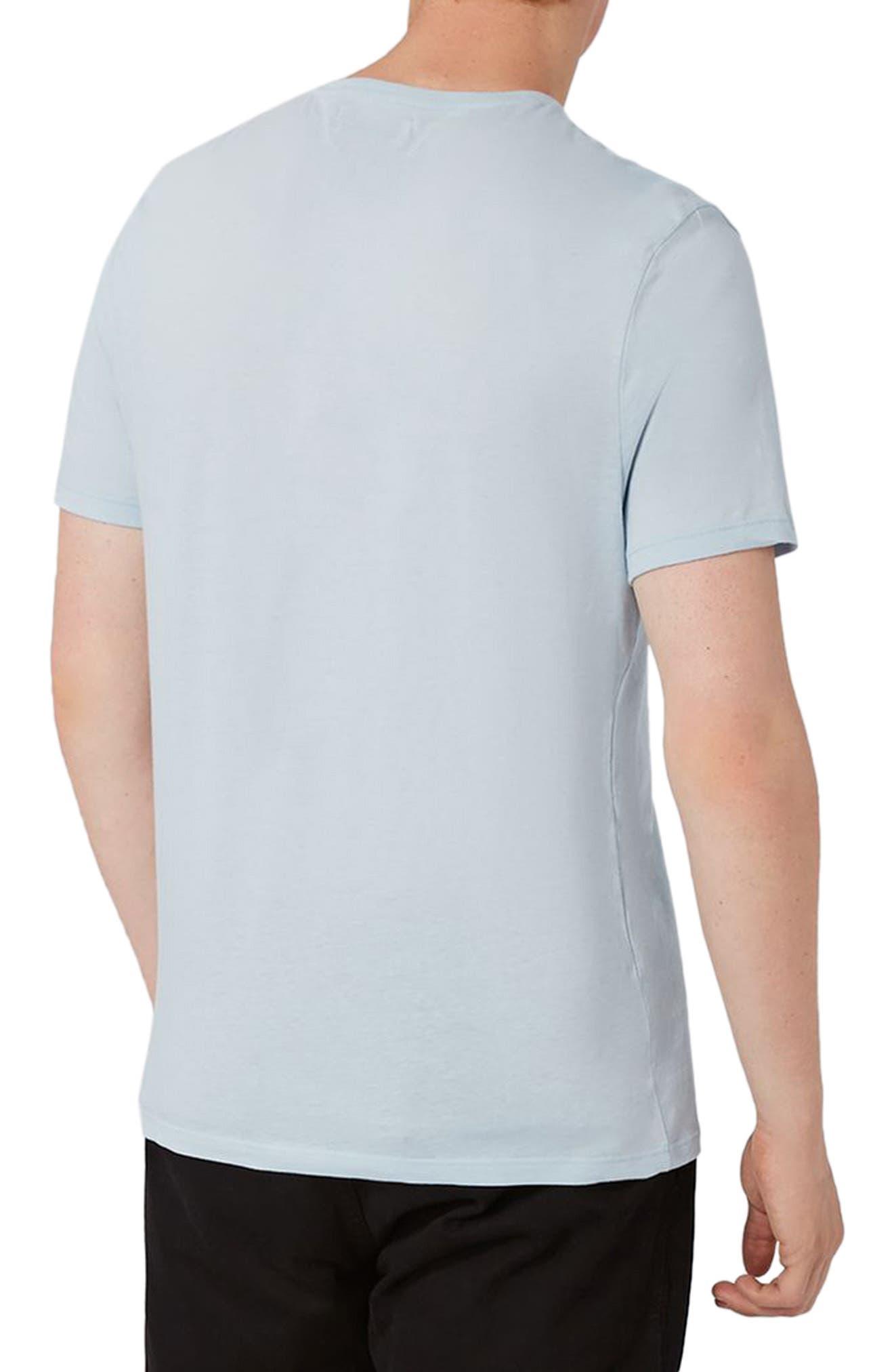 Alternate Image 2  - Topman Lightweight Cotton T-Shirt