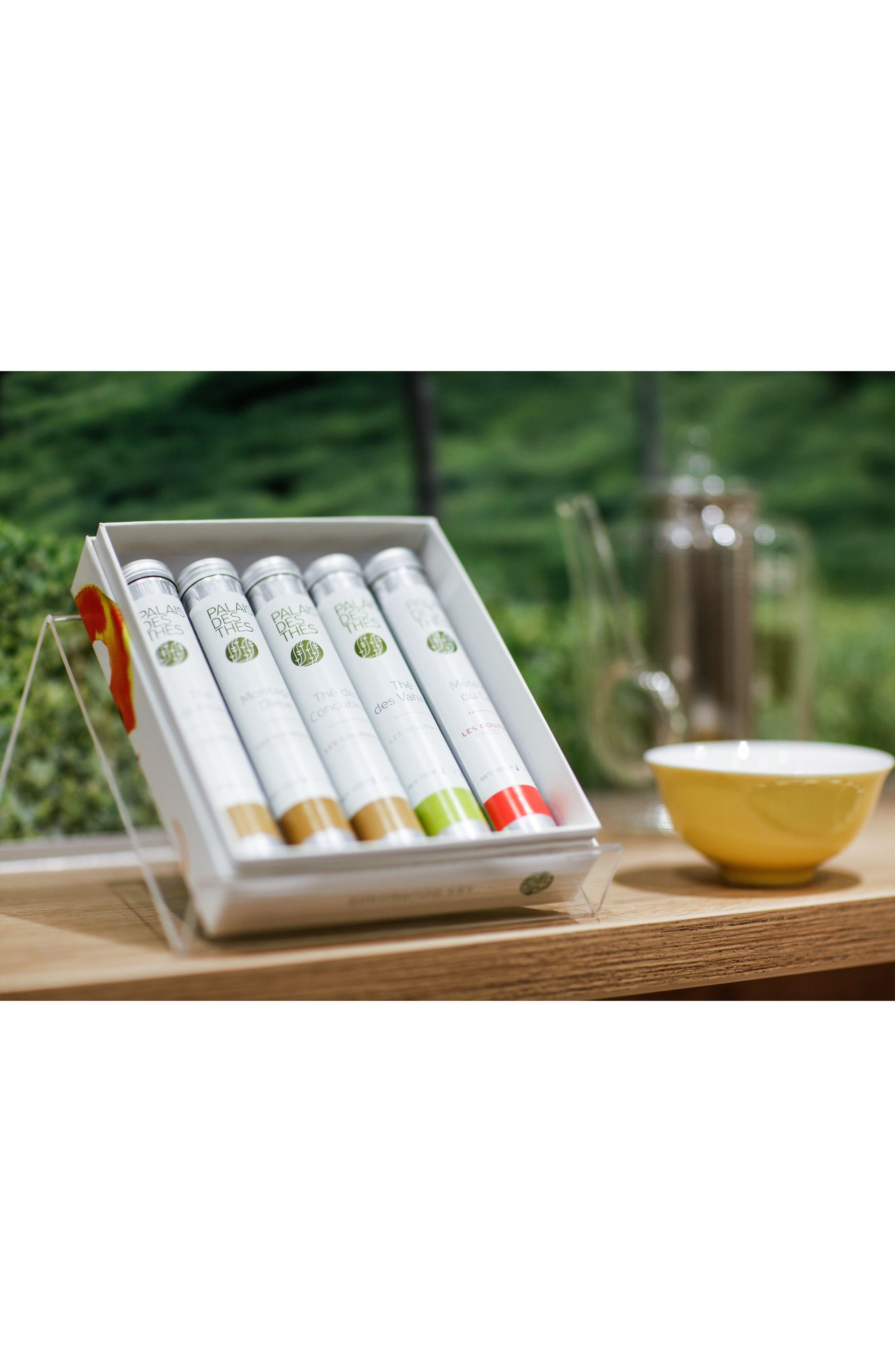 Alternate Image 2  - Palais des Thés 5 Vial Floral Tea Tasting Set