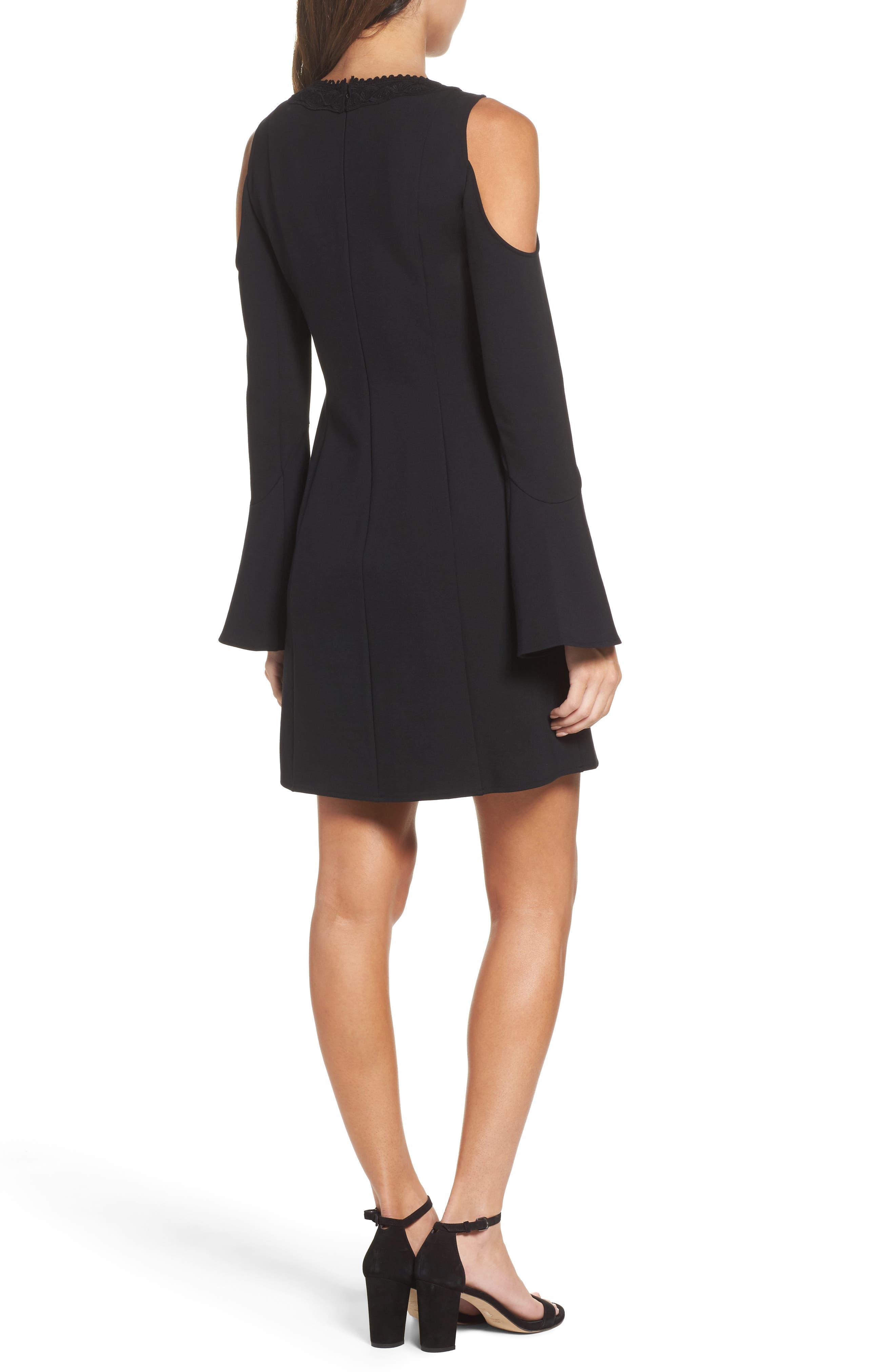 Alternate Image 2  - Kobi Halperin Brie Double Knit Shift Dress (Nordstrom Exclusive)