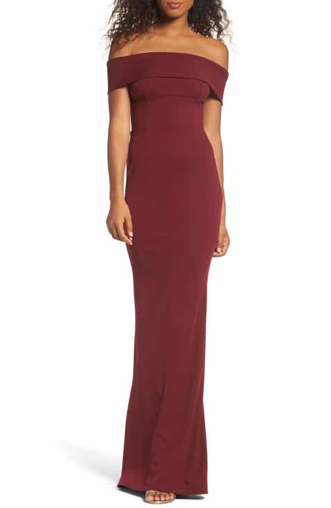 Katie May Legacy Crepe Body Con Gown