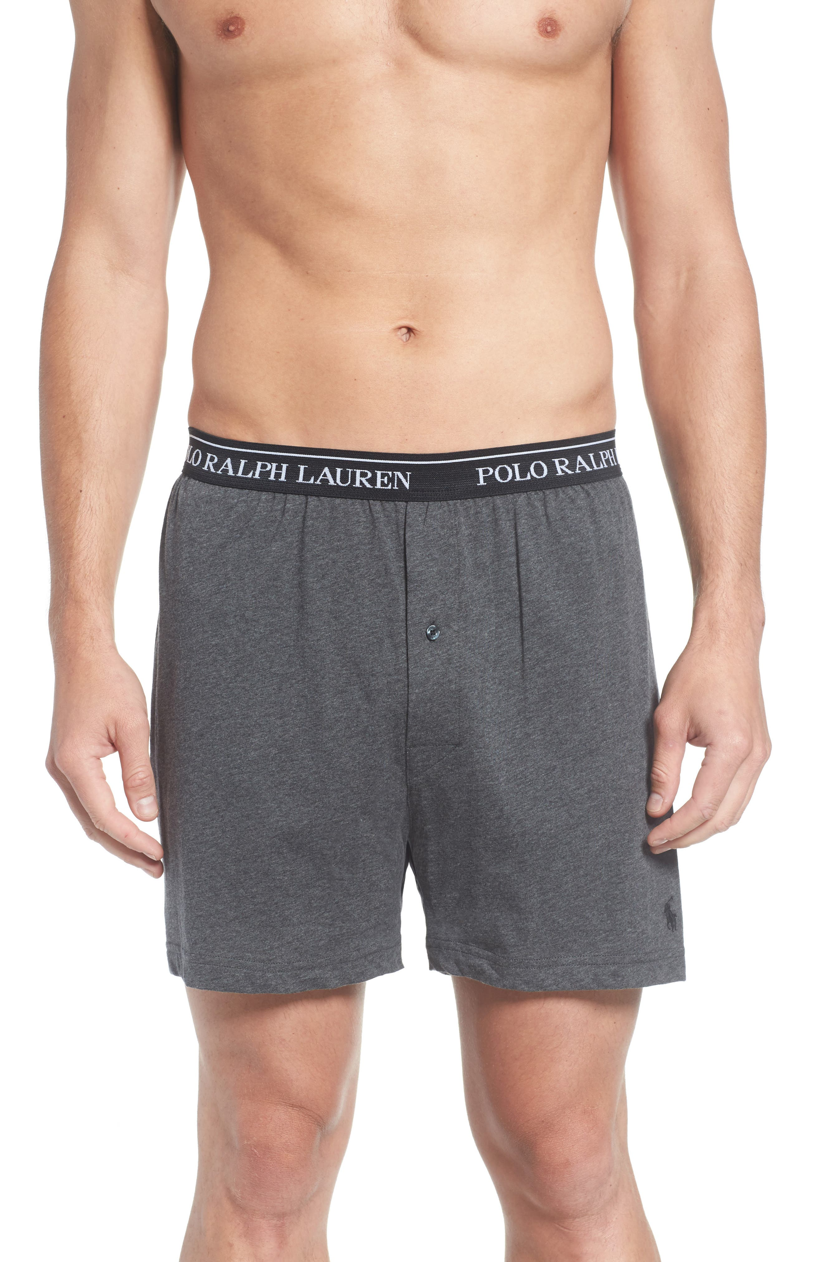 Alternate Image 2  - Polo Ralph Lauren 3-Pack Cotton Boxers