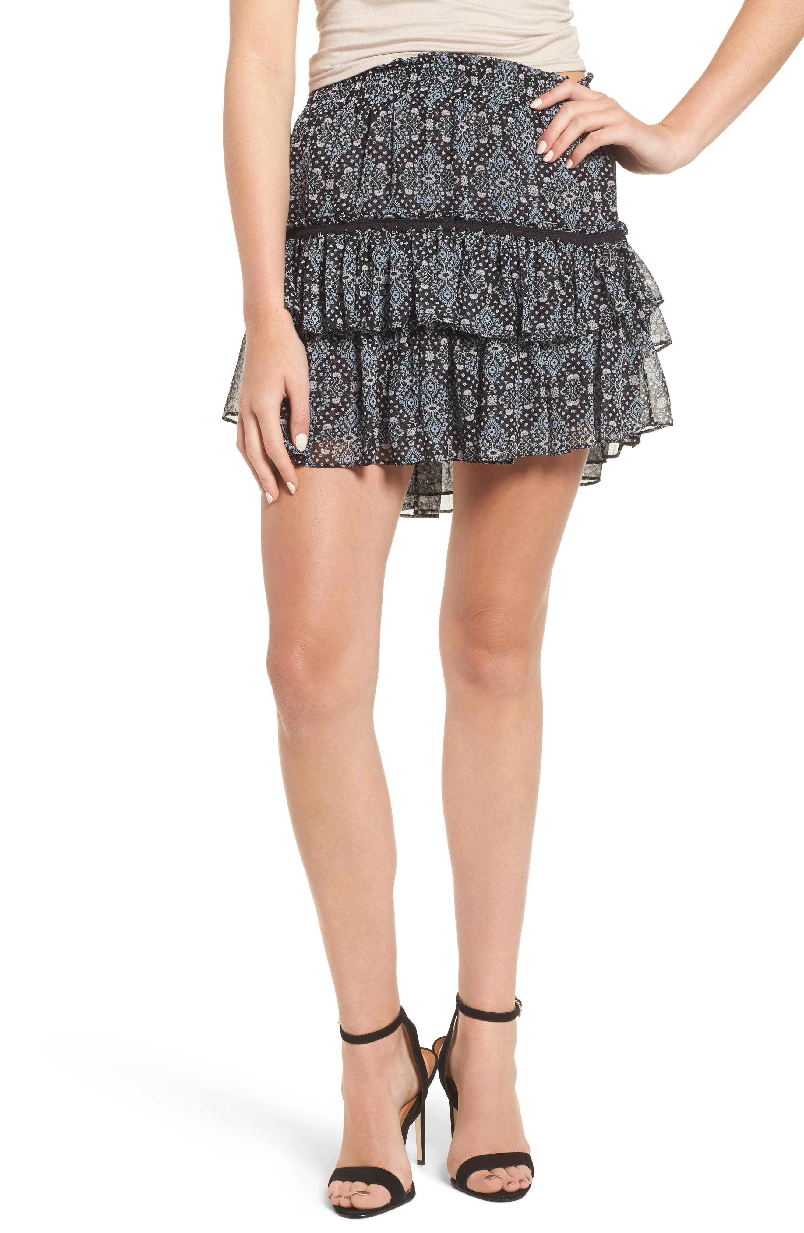 Main Image - MISA Los Angeles Taleh Ruffle Skirt