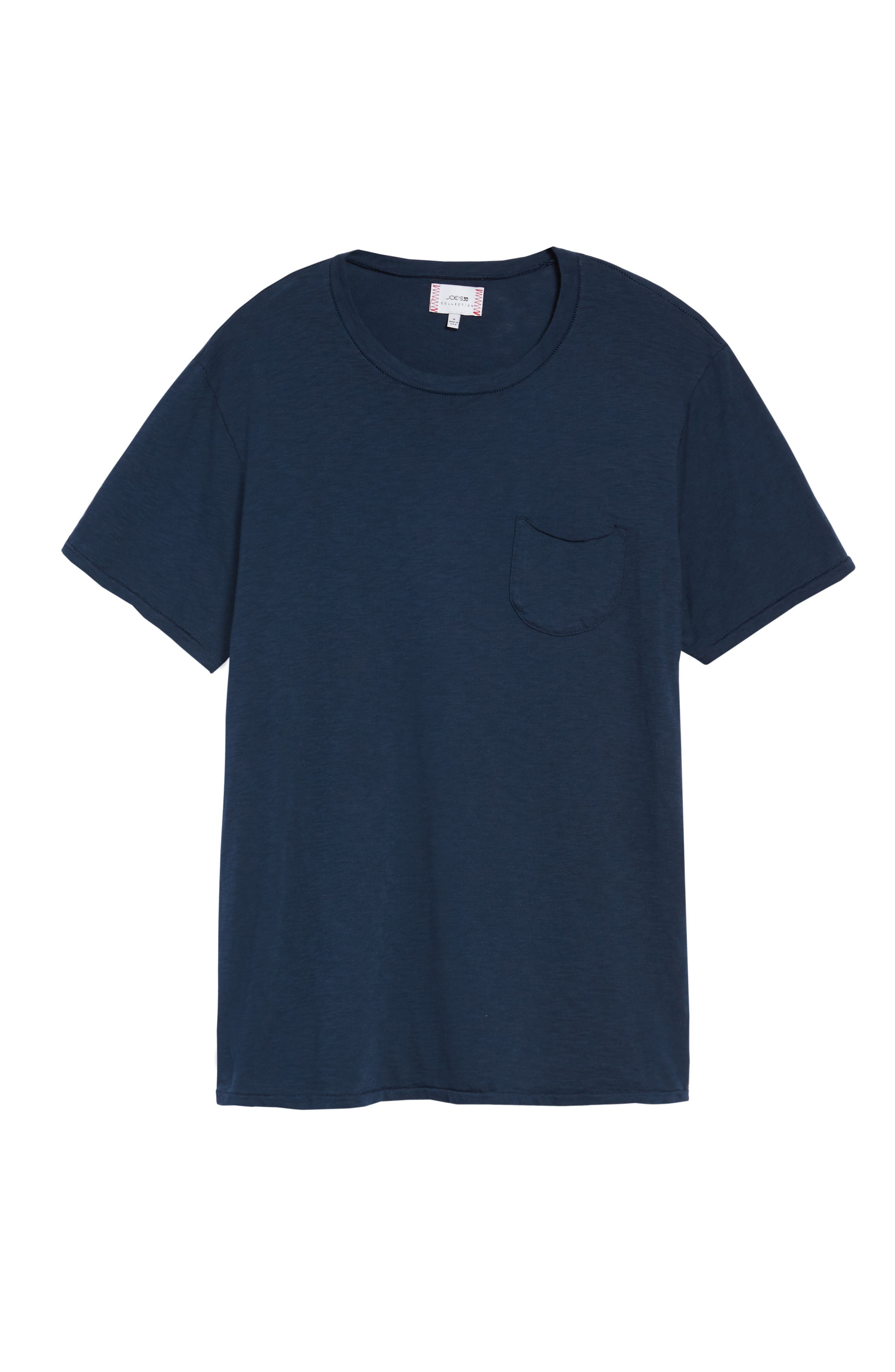 Chase Classic Crewneck T-Shirt,                             Alternate thumbnail 5, color,                             Navy
