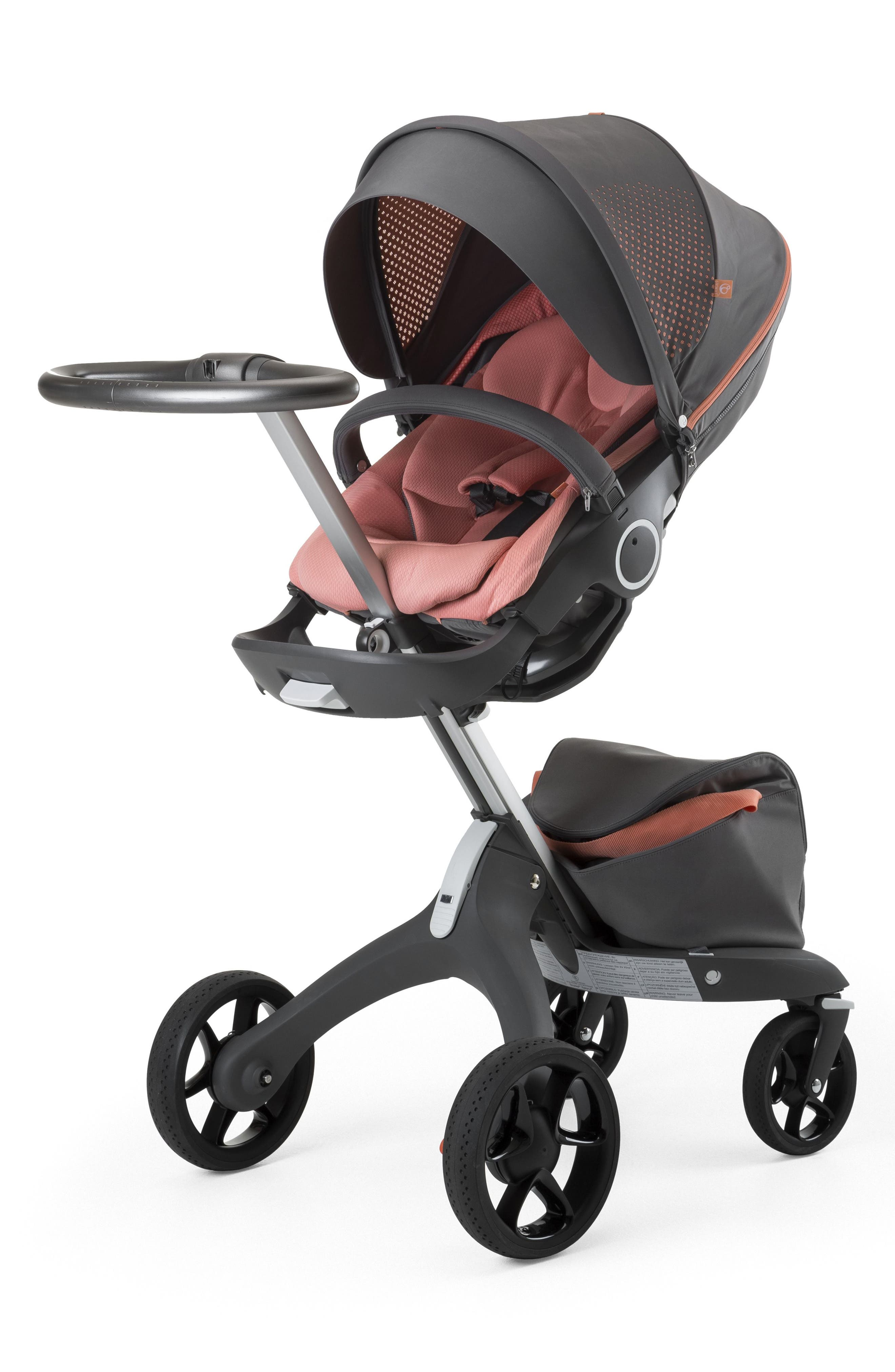 Xplory<sup>®</sup> V5 Coral Athleisure Stroller,                             Alternate thumbnail 2, color,                             Coral
