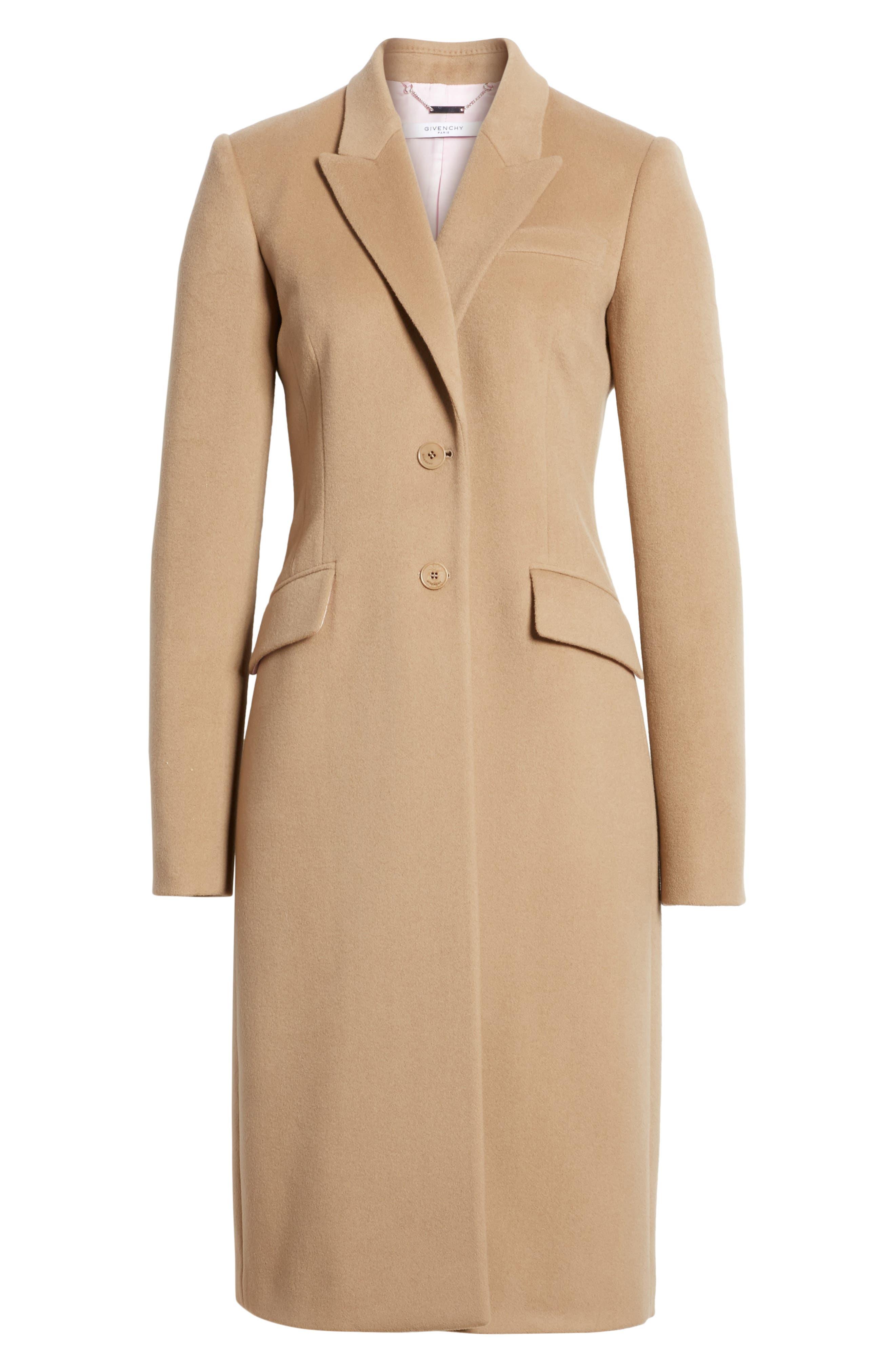 Alternate Image 4  - Givenchy Wool & Cashmere Coat