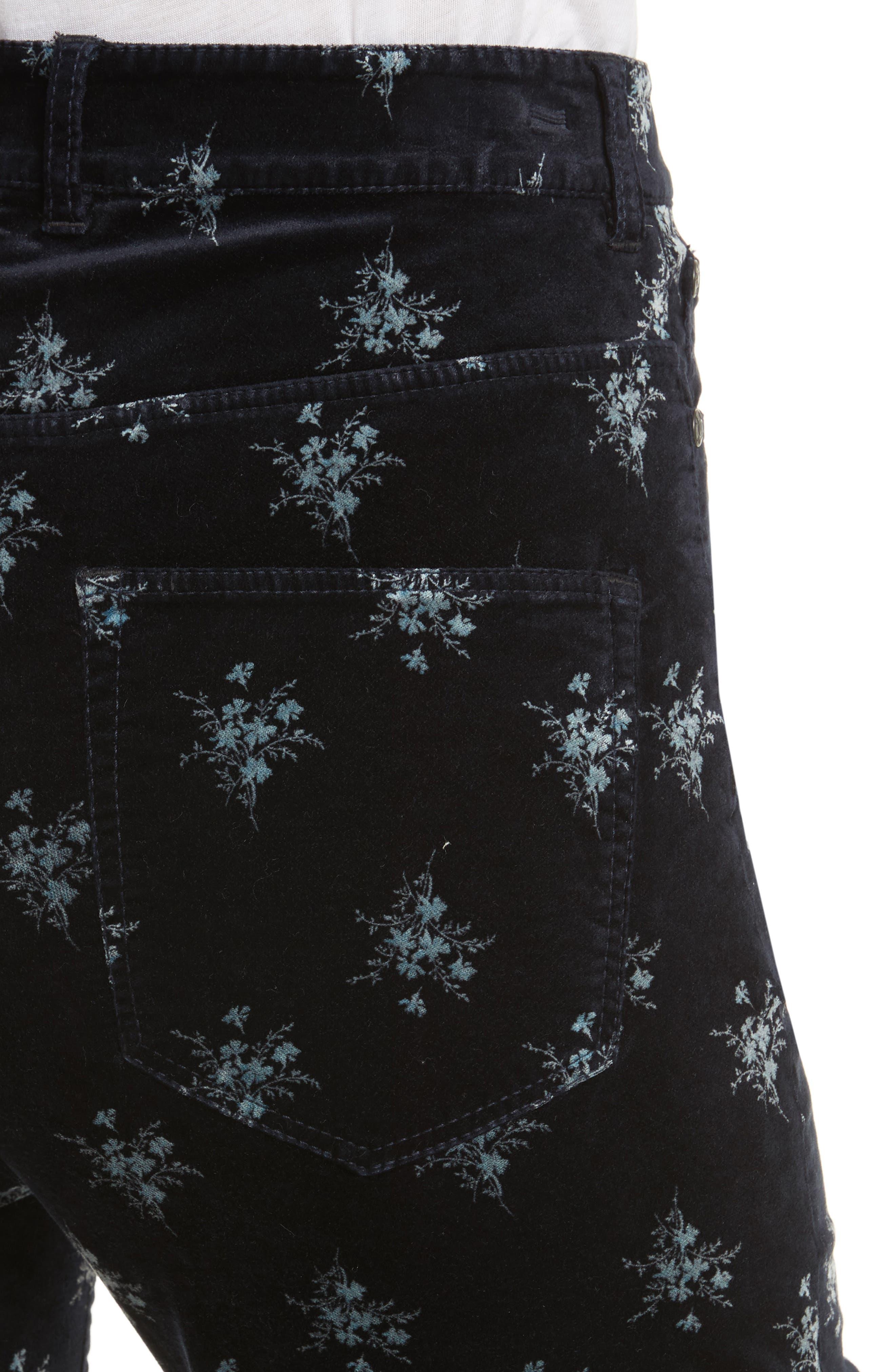 Alternate Image 4  - Rebecca Taylor Celeste Velvet Pants