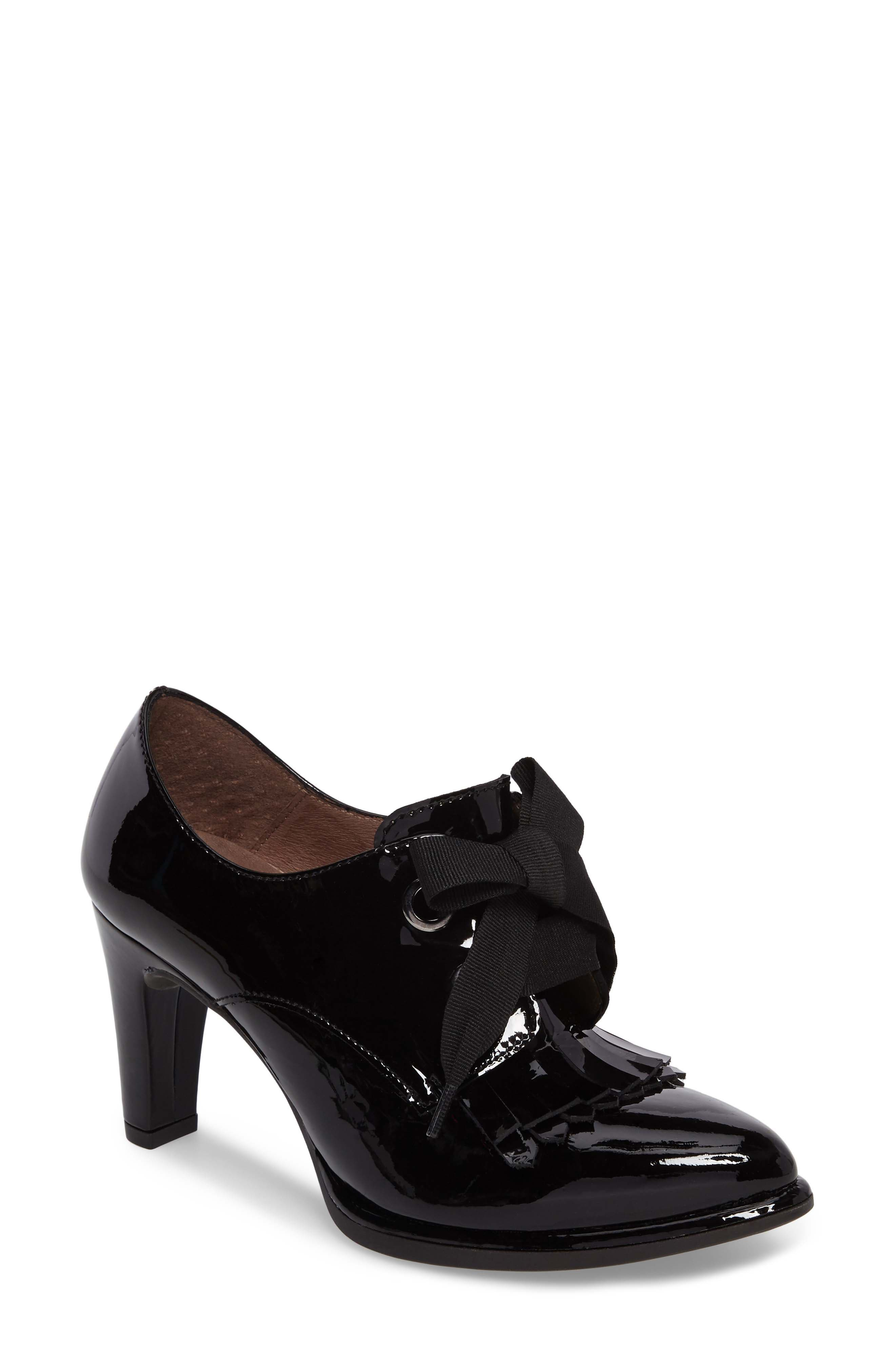 Wonders Lace-Up Loafer Pump (Women)