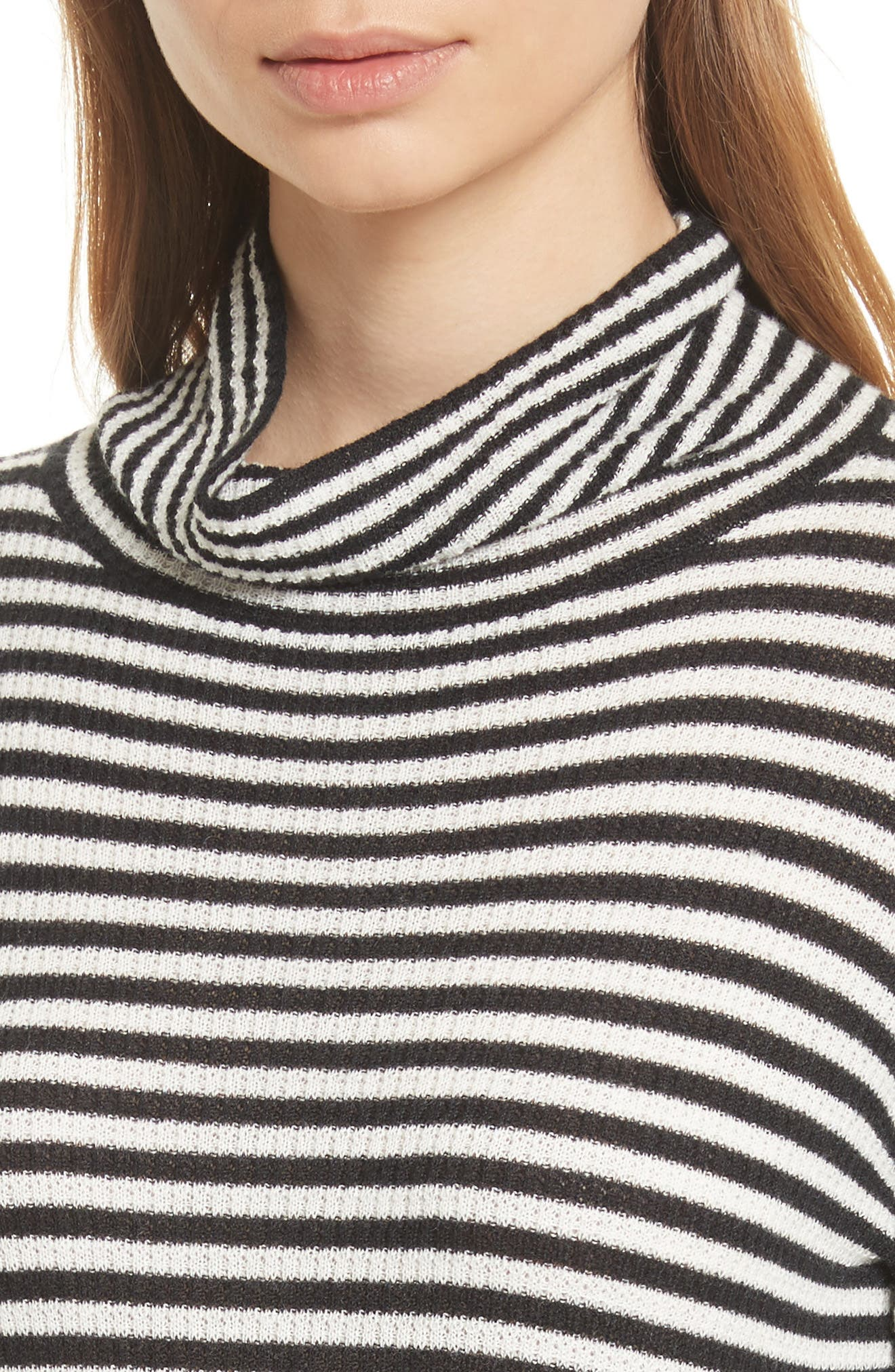 Alternate Image 4  - Soft Joie Zelene Stripe Cowl Neck Sweater