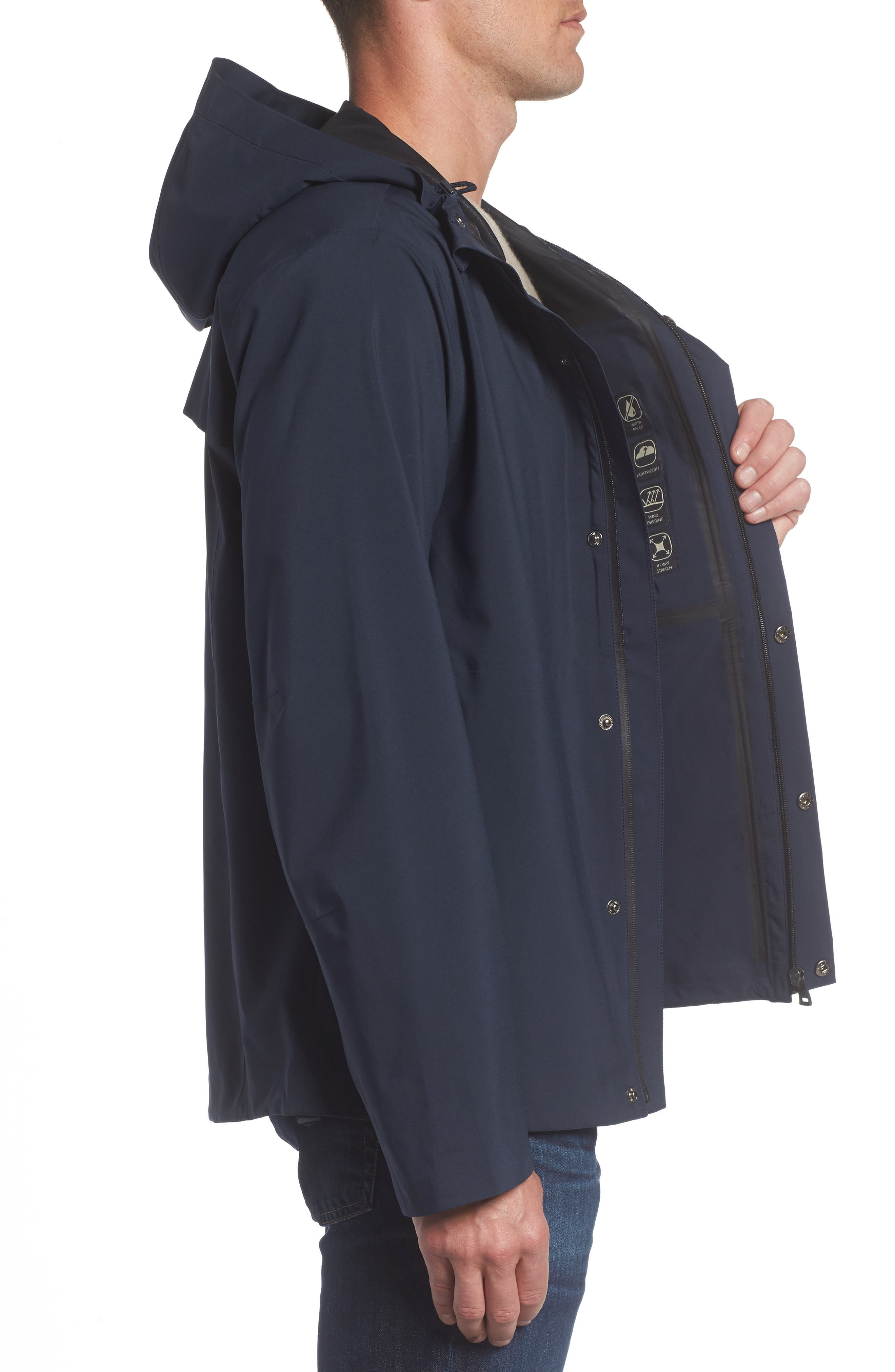 Alternate Image 3  - Marc New York Stratus Waterproof Hooded Rain Jacket