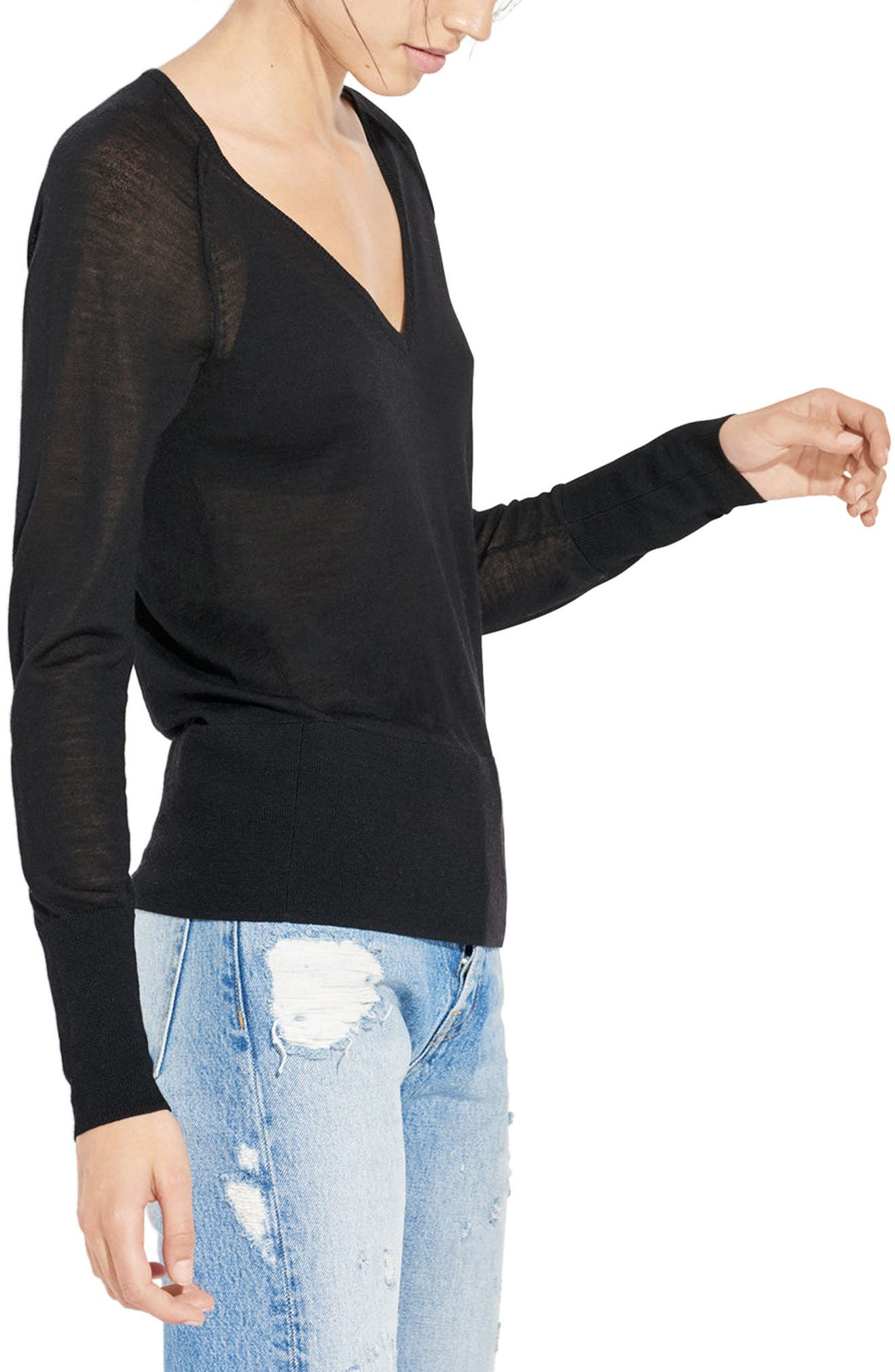 Alternate Image 2  - AYR The Slice Merino Wool Sweater