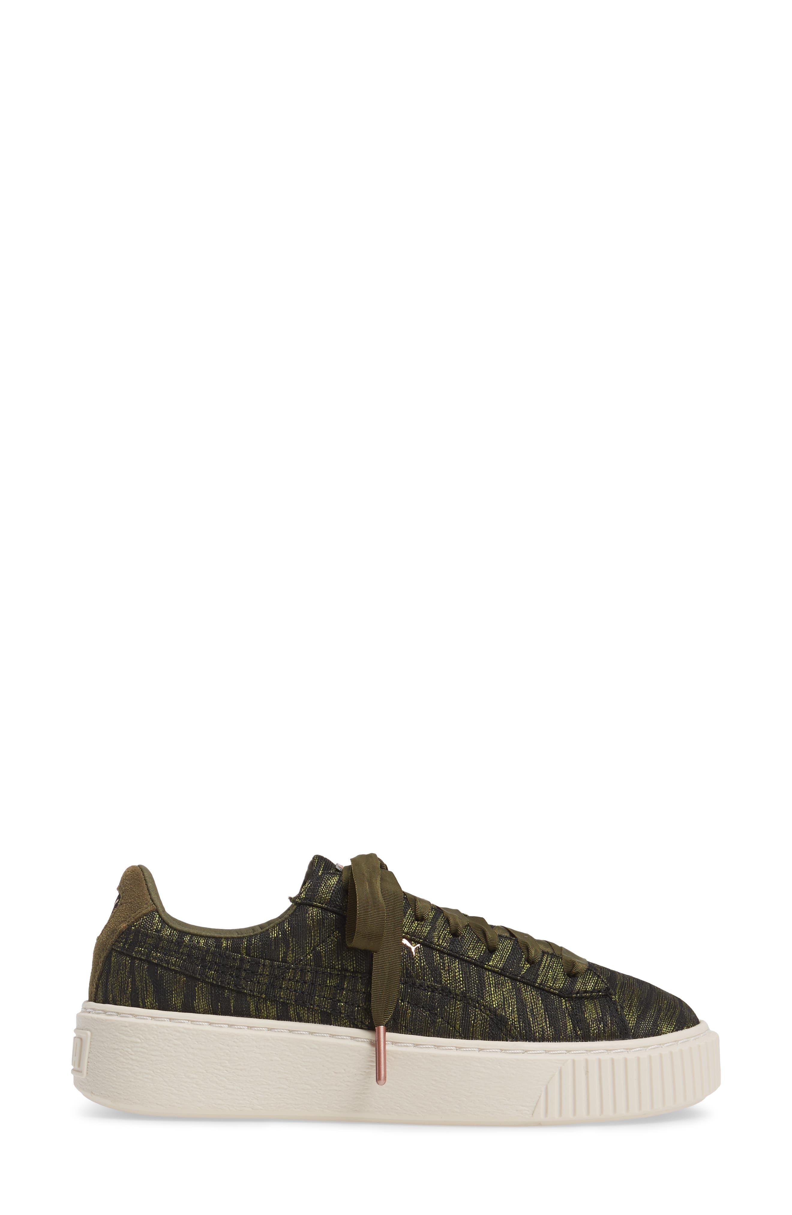 Alternate Image 3  - PUMA Basket Platform Sneaker (Women)