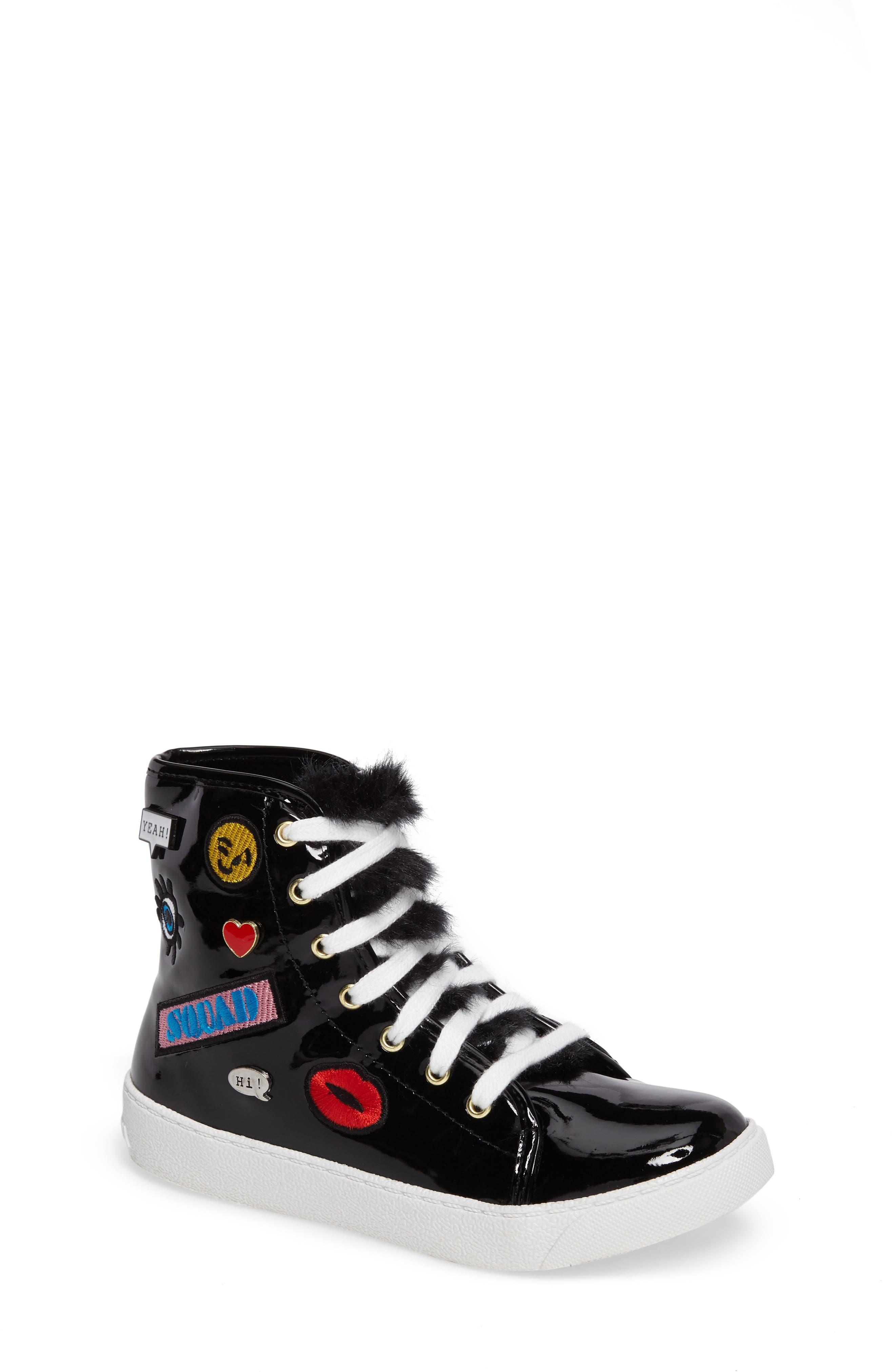 Alternate Image 1 Selected - Sam Edelman Harriet Heidi High-Top Sneaker (Toddler, Little Kid & Big Kid)
