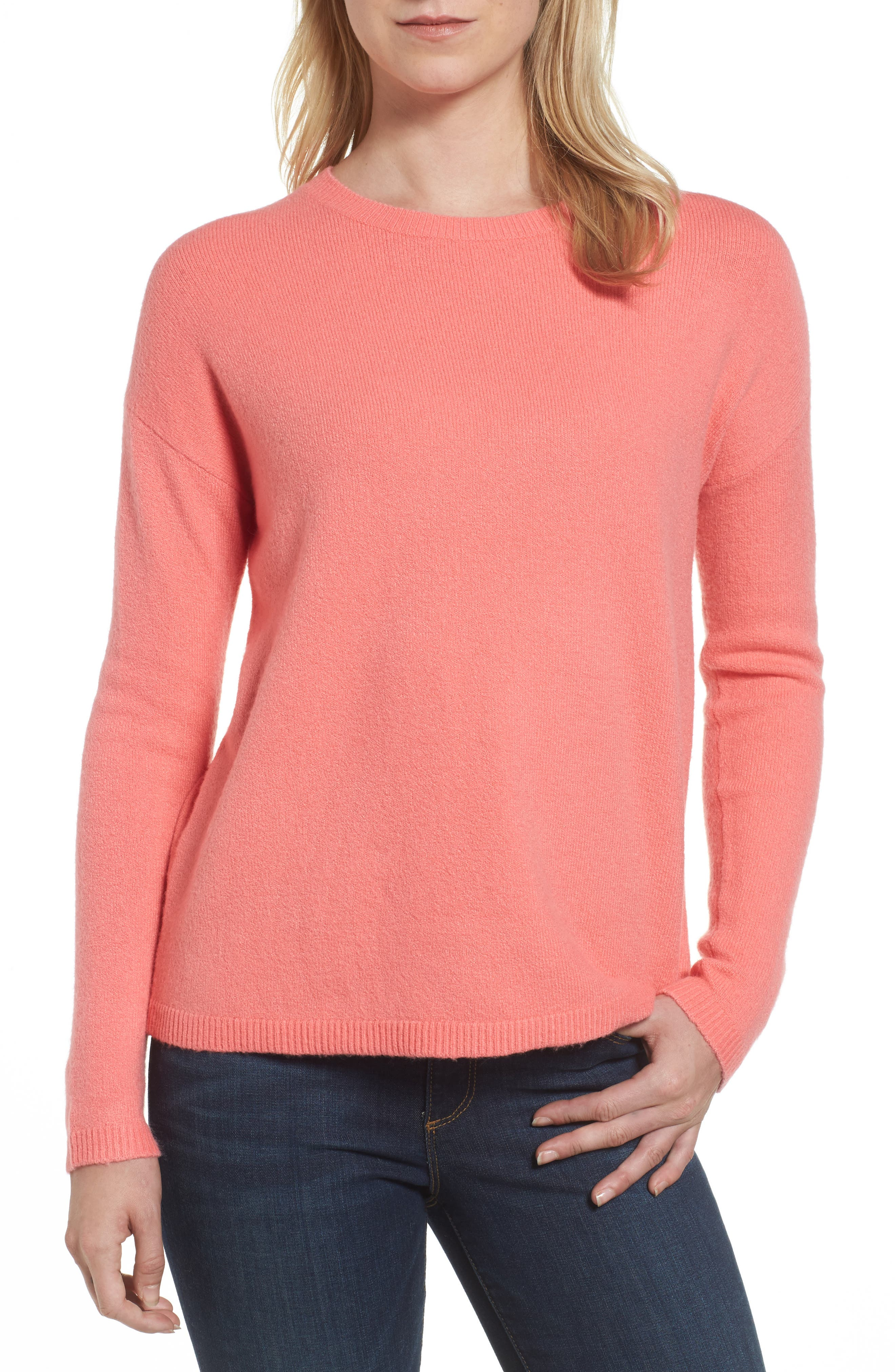 Halogen® Bow Back Sweater
