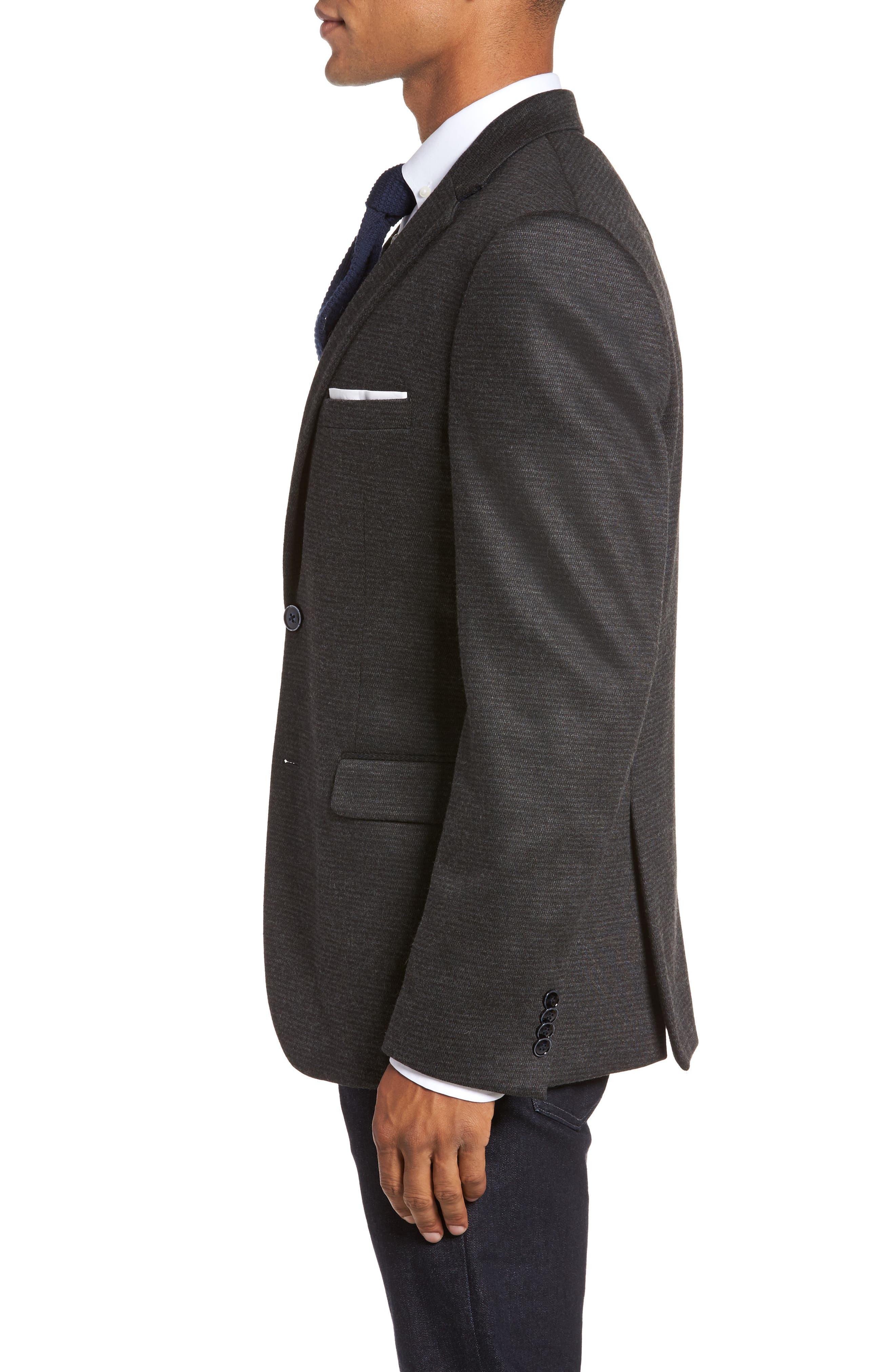 Alternate Image 3  - JKT New York Trim Fit Solid Sport Coat
