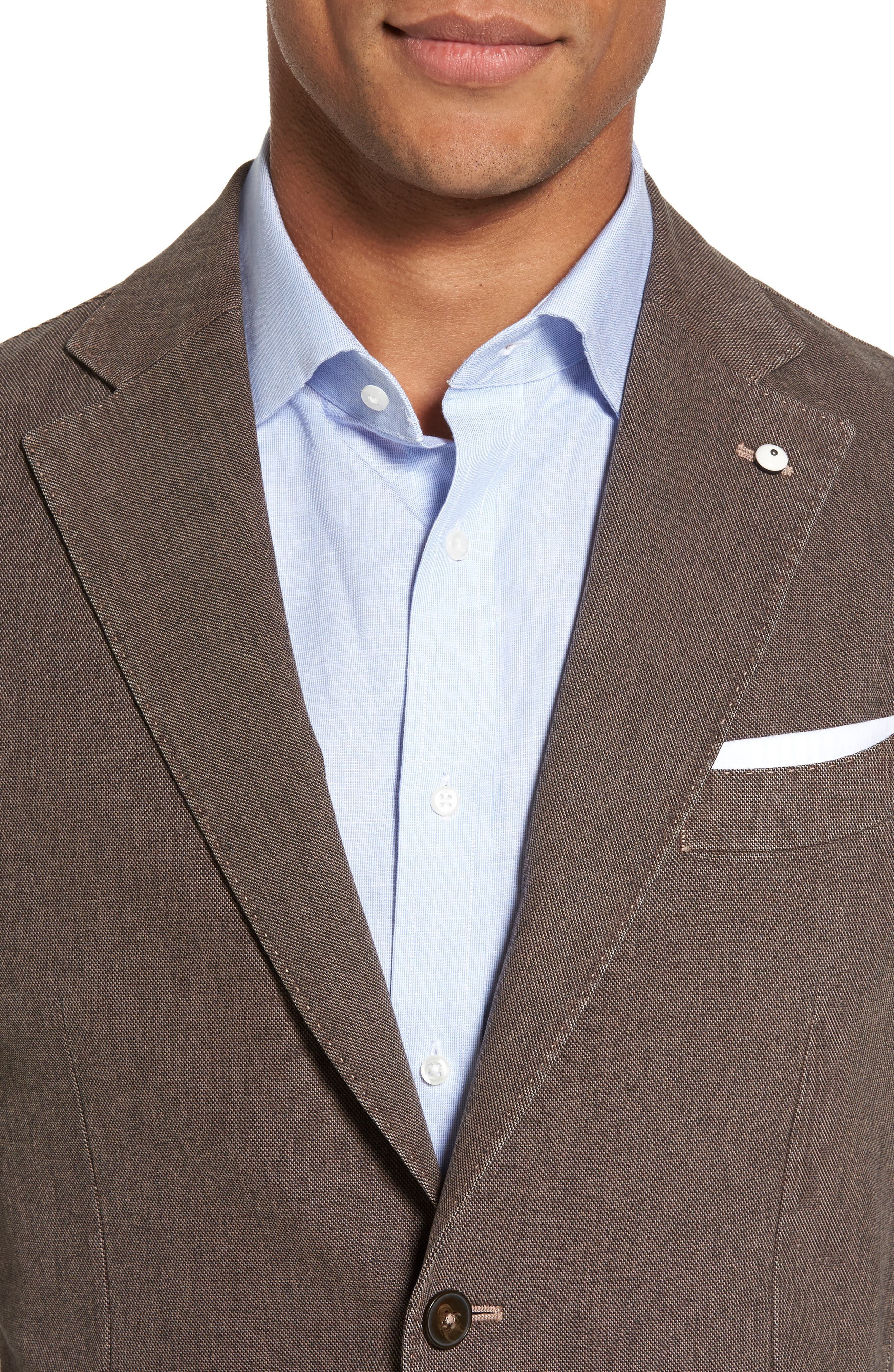 Alternate Image 4  - L.B.M. 1911 Classic Fit Cotton Blend Blazer