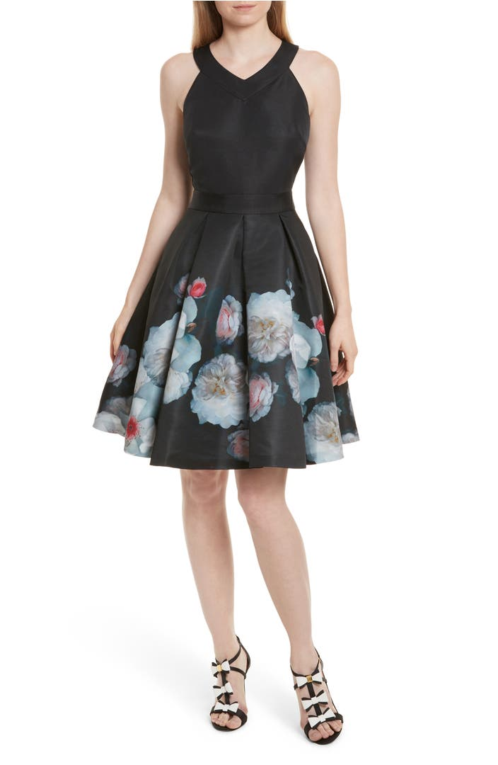 Ted Baker London Jelina Chelsea Floral Fit Amp Flare Dress