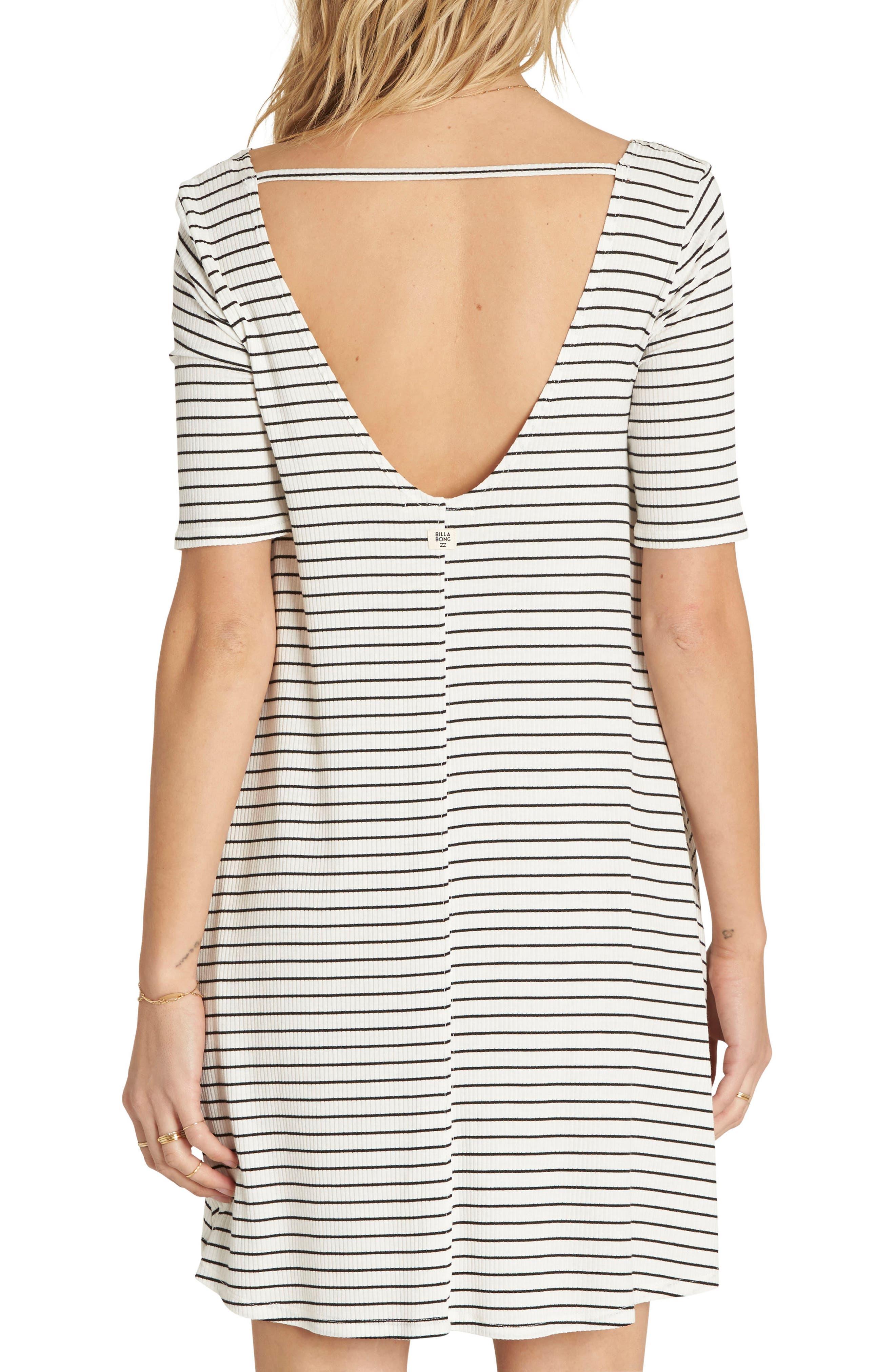 Alternate Image 2  - Billabong Nothing to Hide Ribbed T-Shirt Dress
