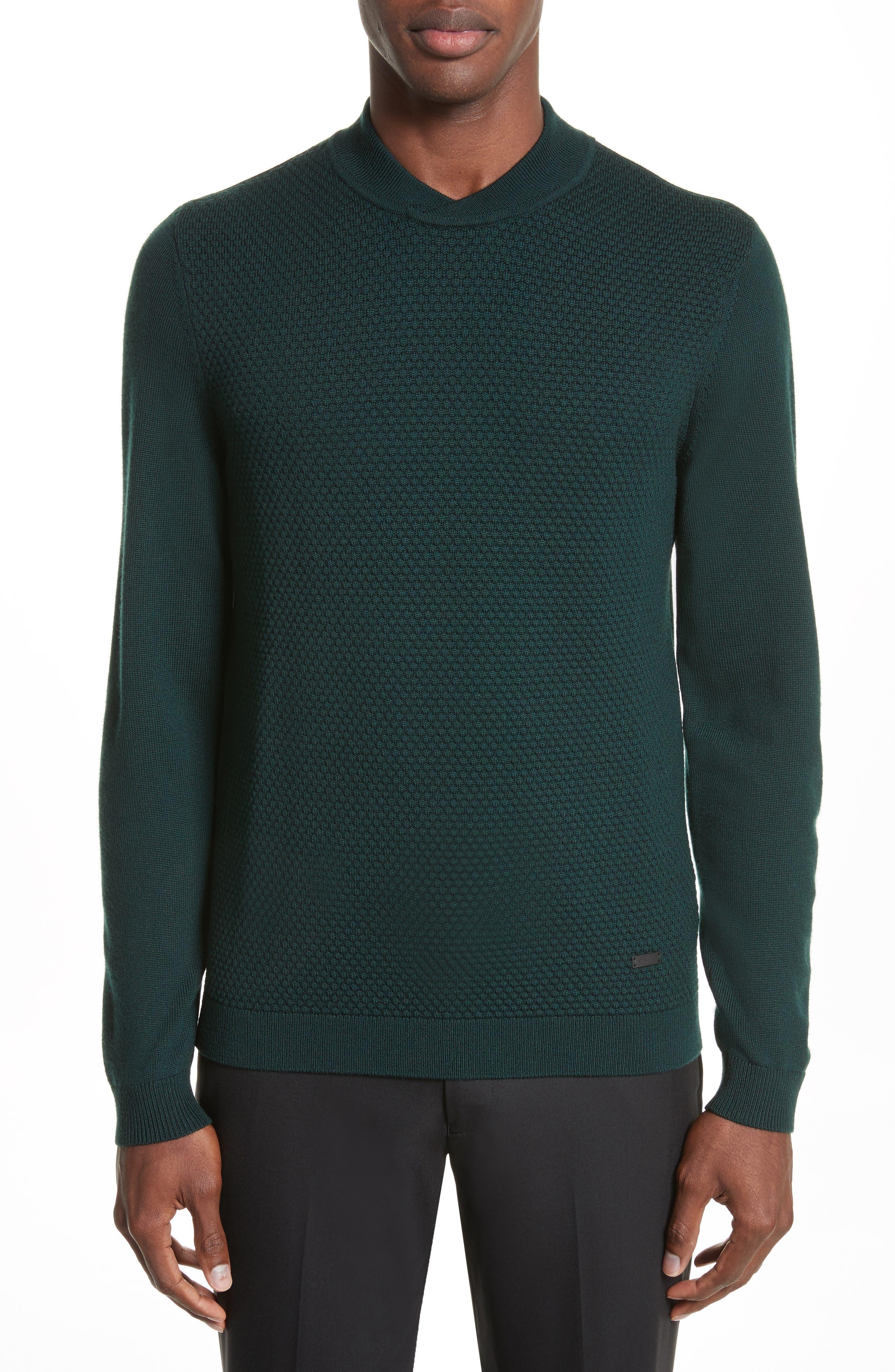 Armani Collezioni Jacquard Sweater