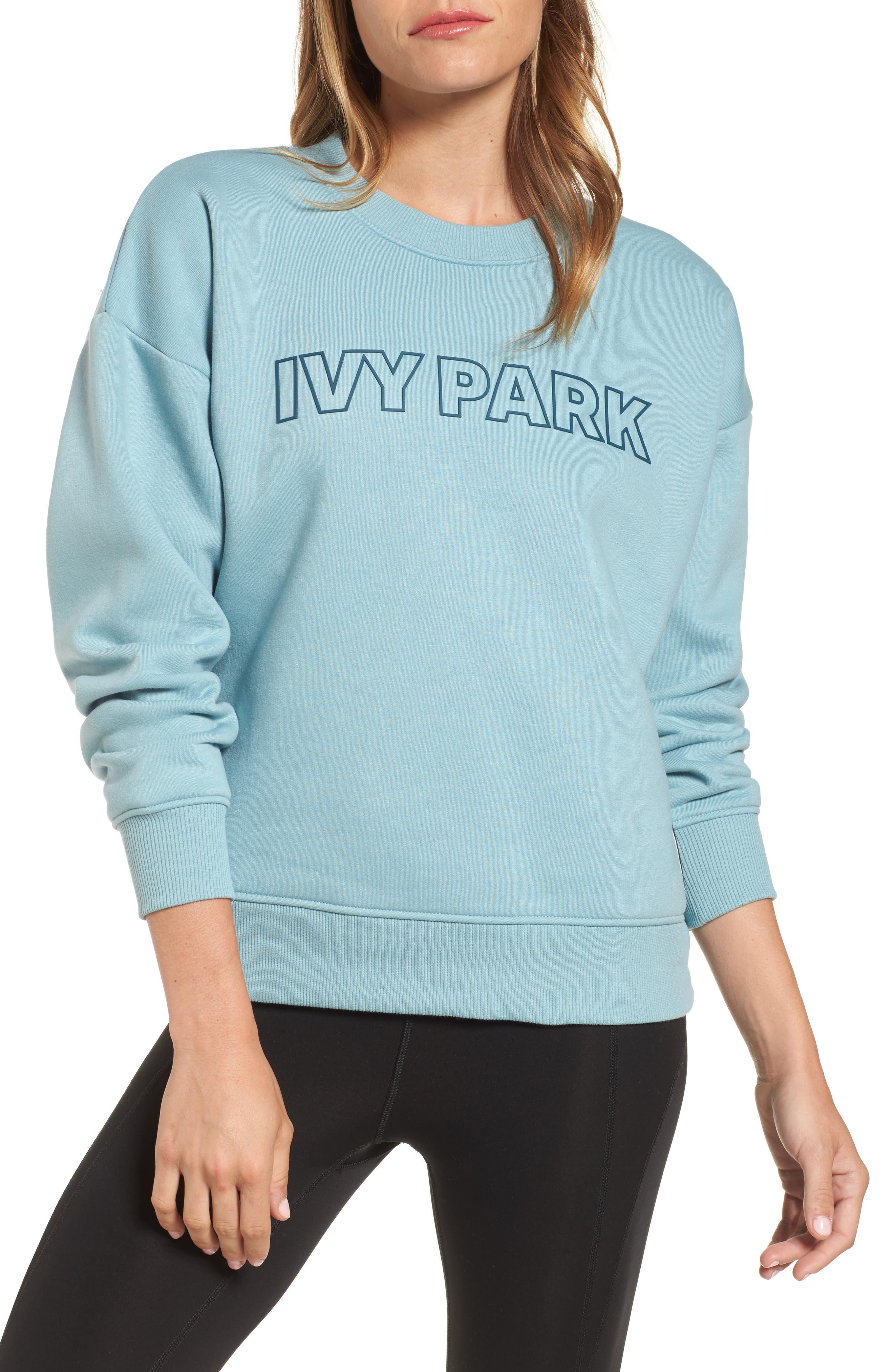 IVY PARK® Silicone Logo Sweatshirt