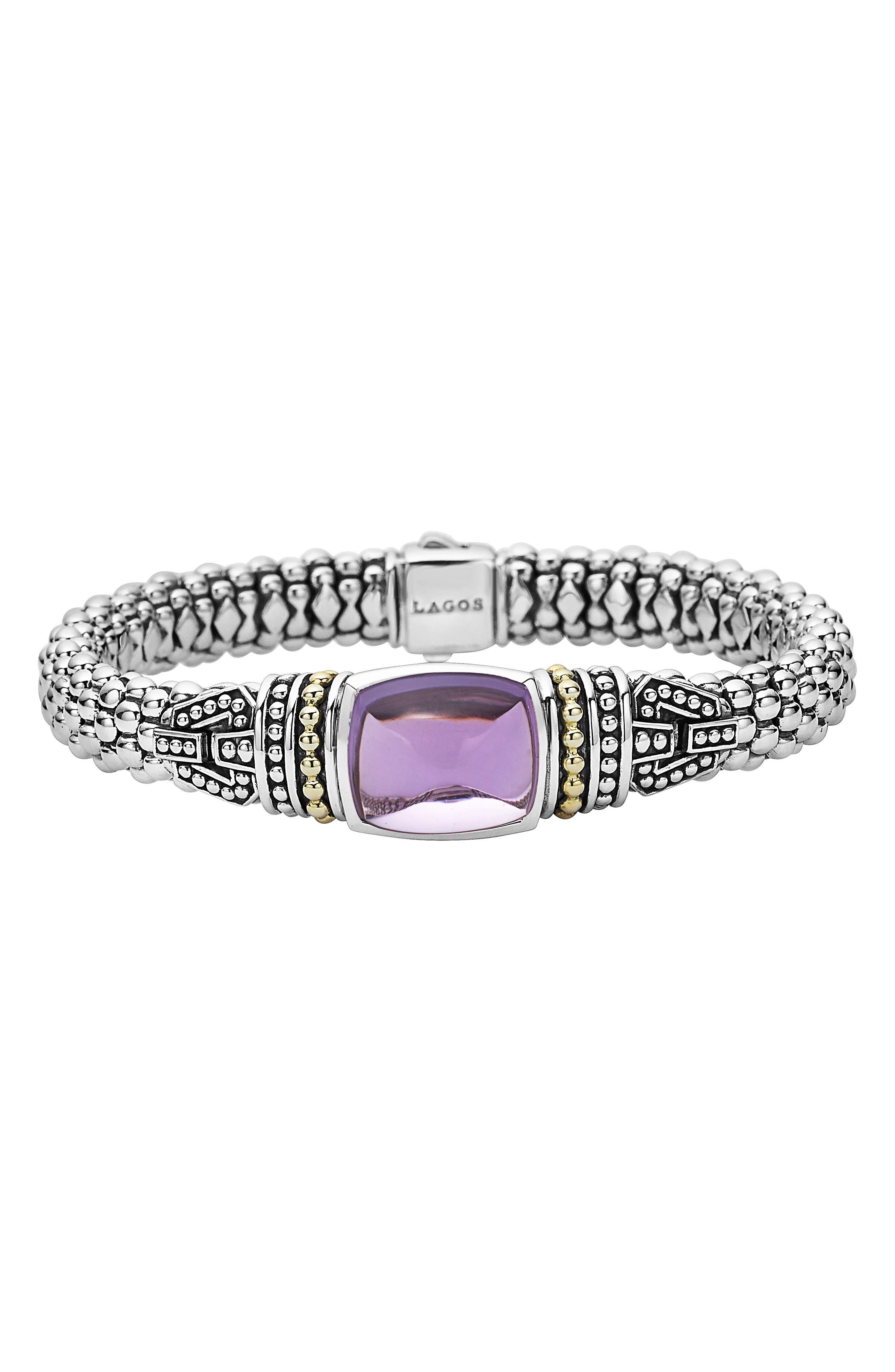 LAGOS Caviar Color Semiprecious Stone Bracelet