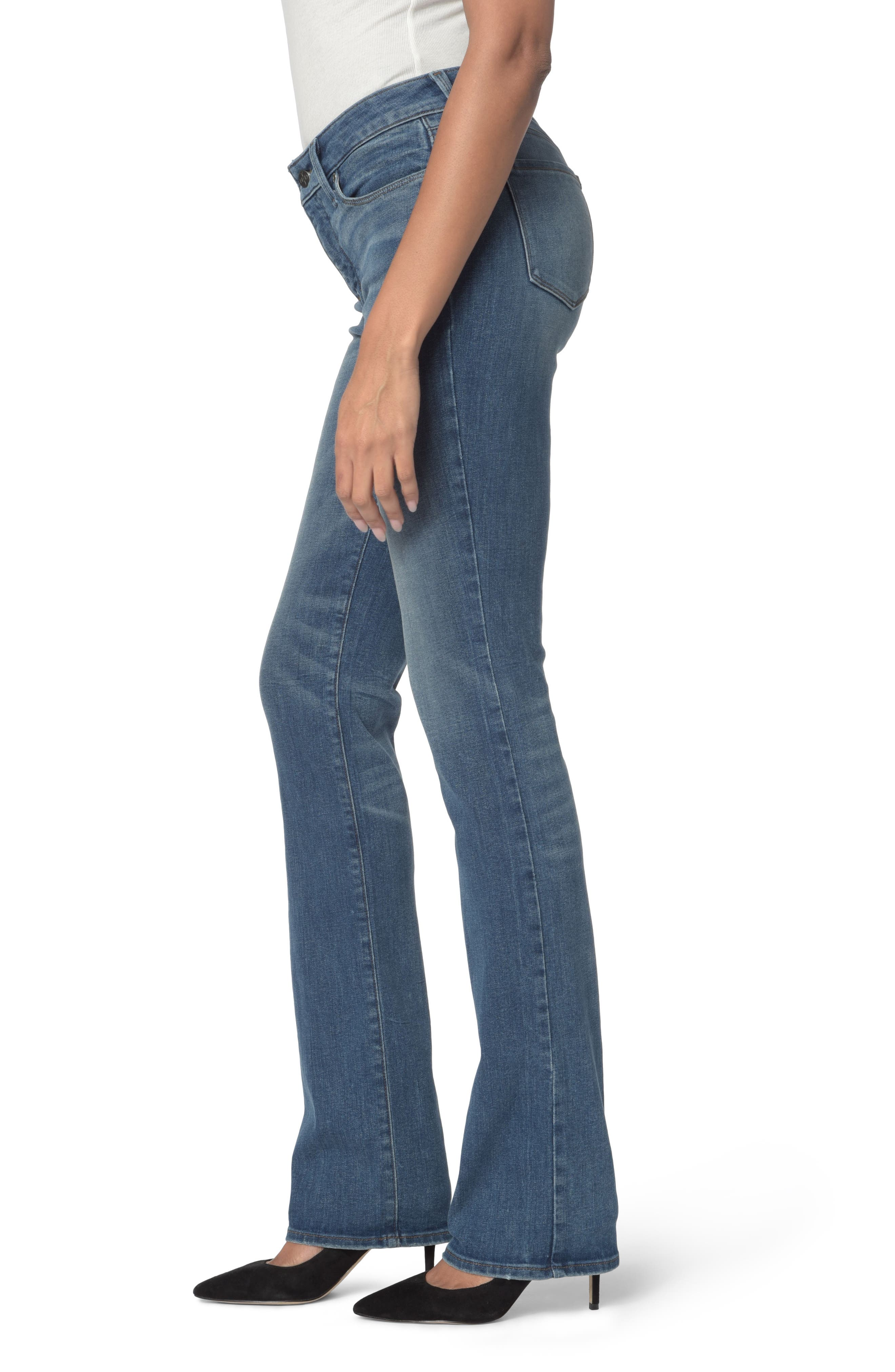Marilyn Stretch Straight Leg Jeans,                             Alternate thumbnail 3, color,                             Noma