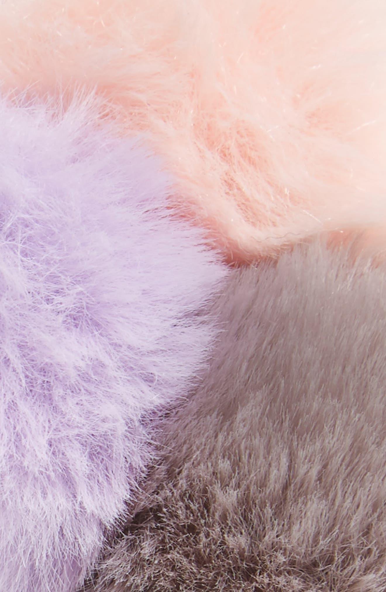 Accessory Collective Pompom Headband,                             Alternate thumbnail 2, color,                             Light Pink/ Gray/ Magenta
