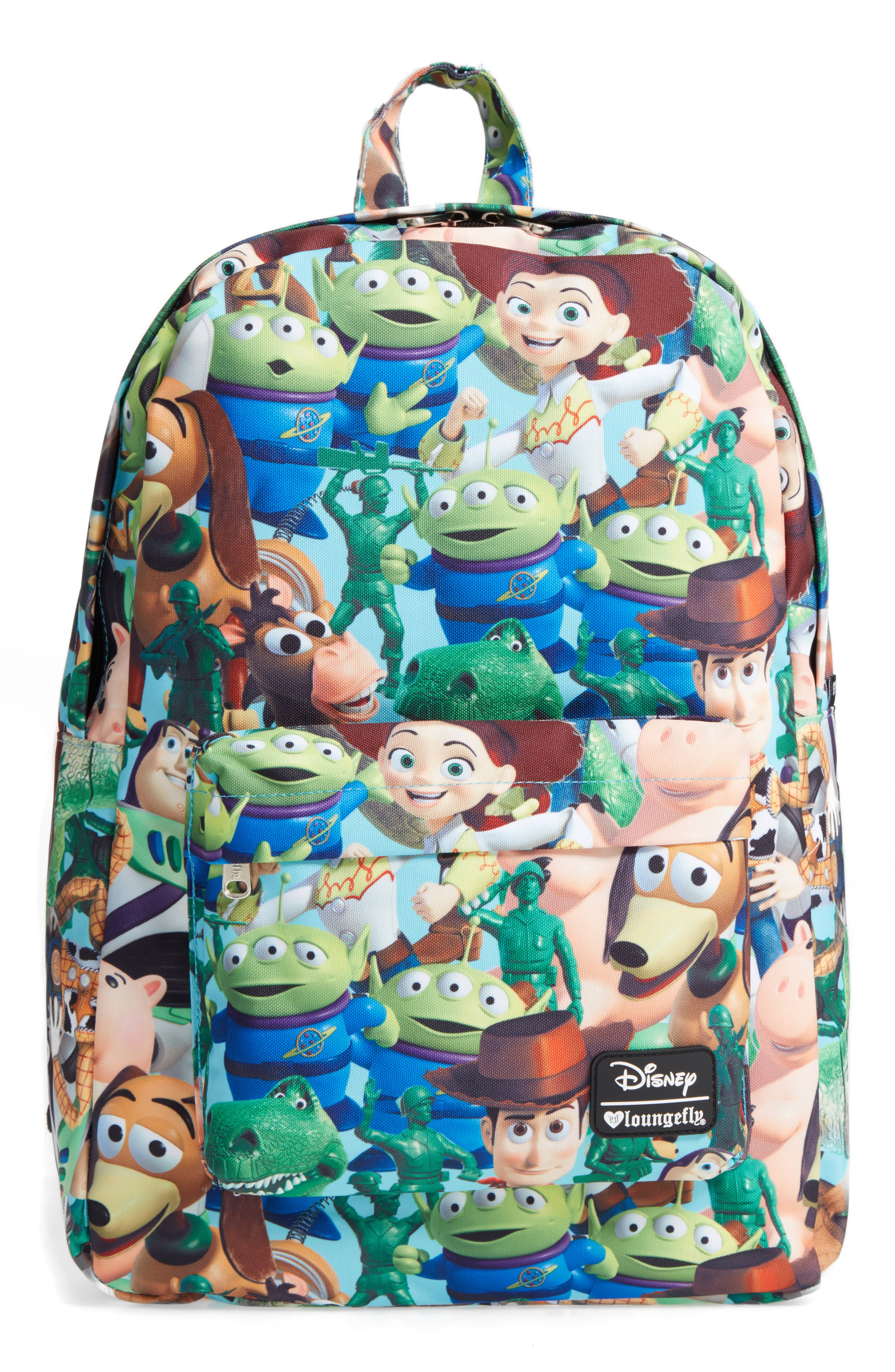 Disney<sup>®</sup> Toy Story Backpack,                             Main thumbnail 1, color,                             Blue Multi