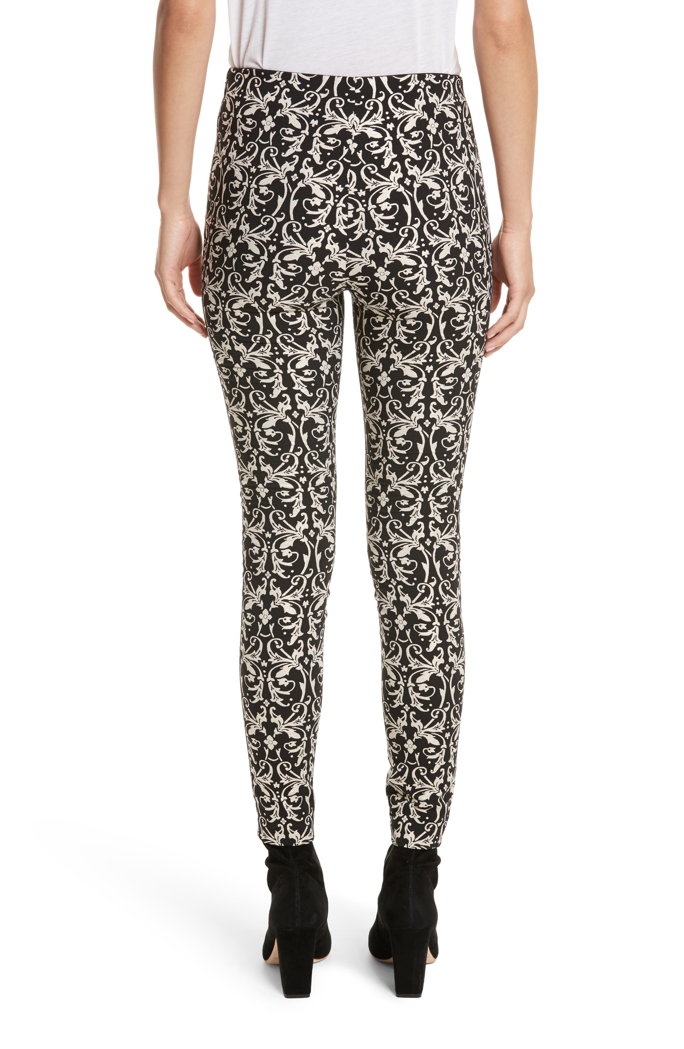 Alternate Image 2  - Alice + Olivia Royce Side Zip Legging
