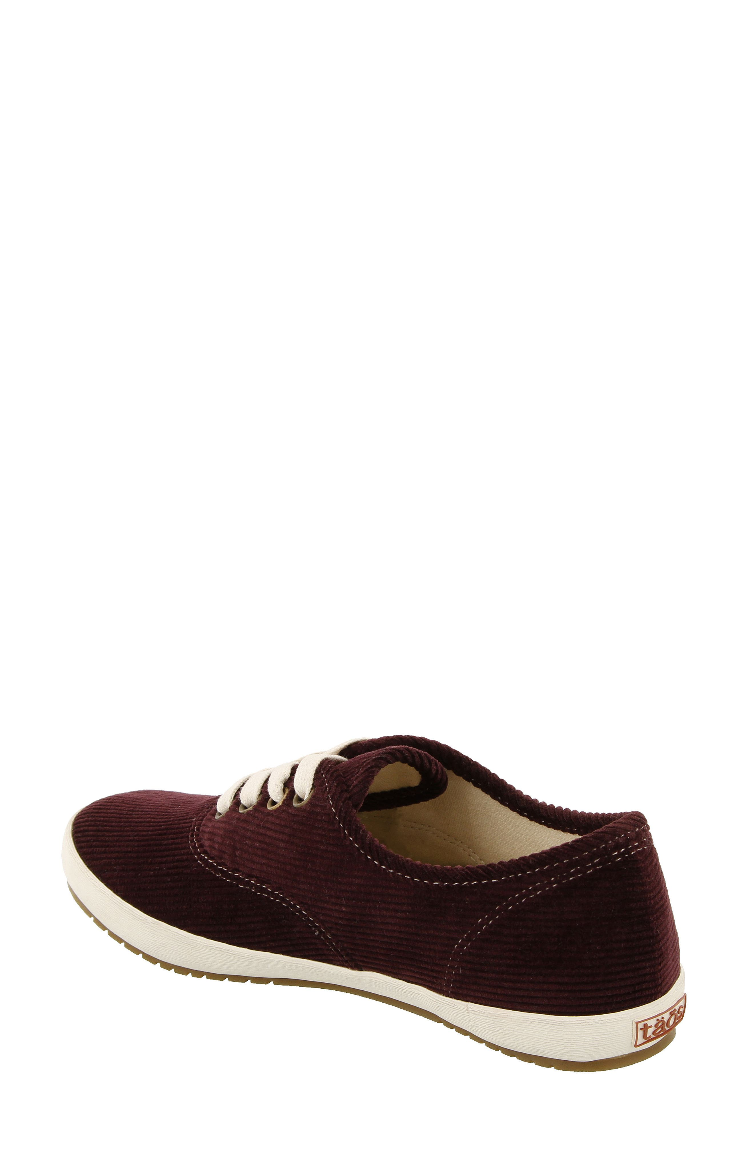Guest Star Sneaker,                             Alternate thumbnail 2, color,                             Bordeaux Cord Fabric