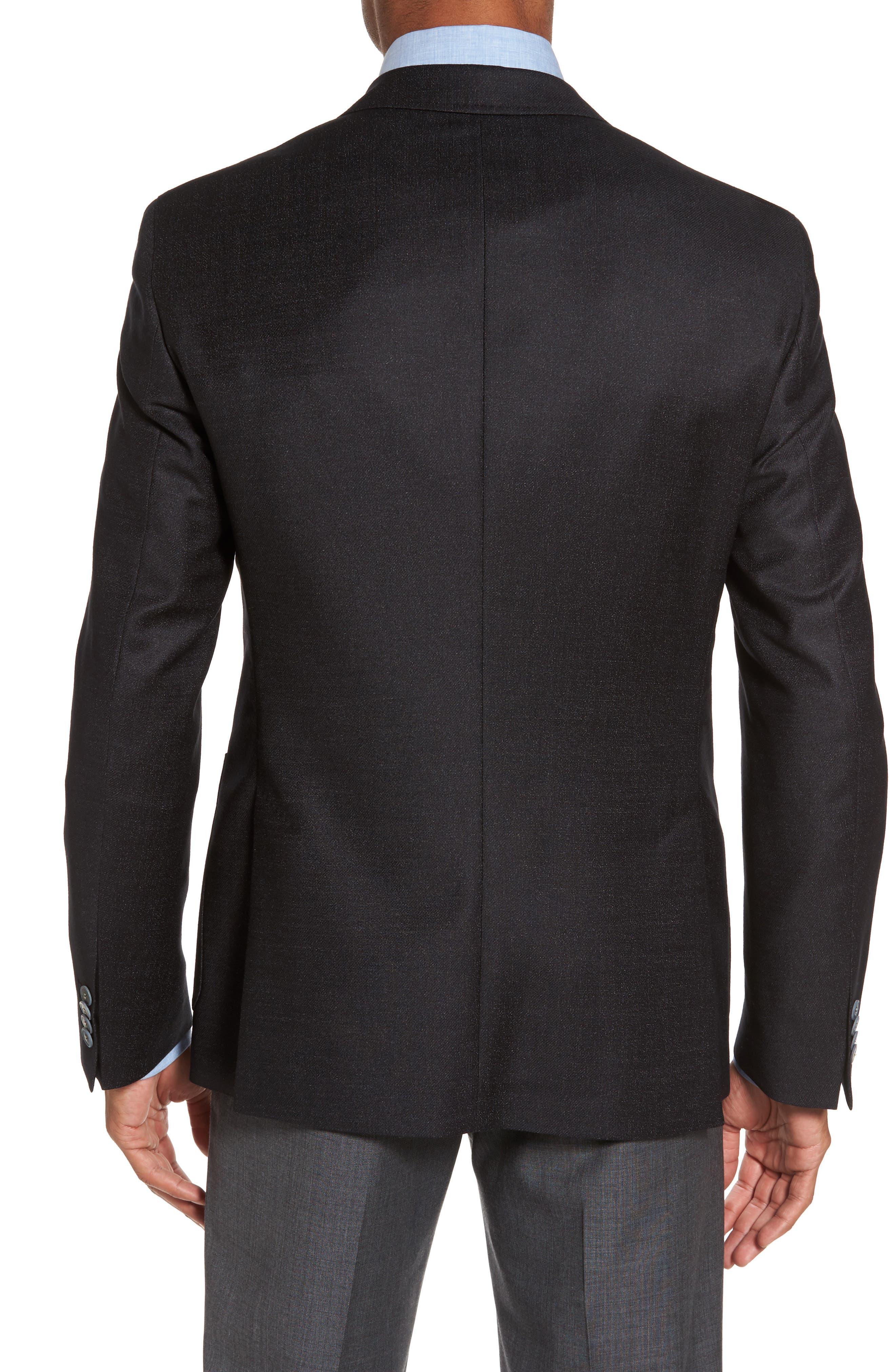 Alternate Image 2  - BOSS Raye Extra Trim Fit Wool Blend Blazer