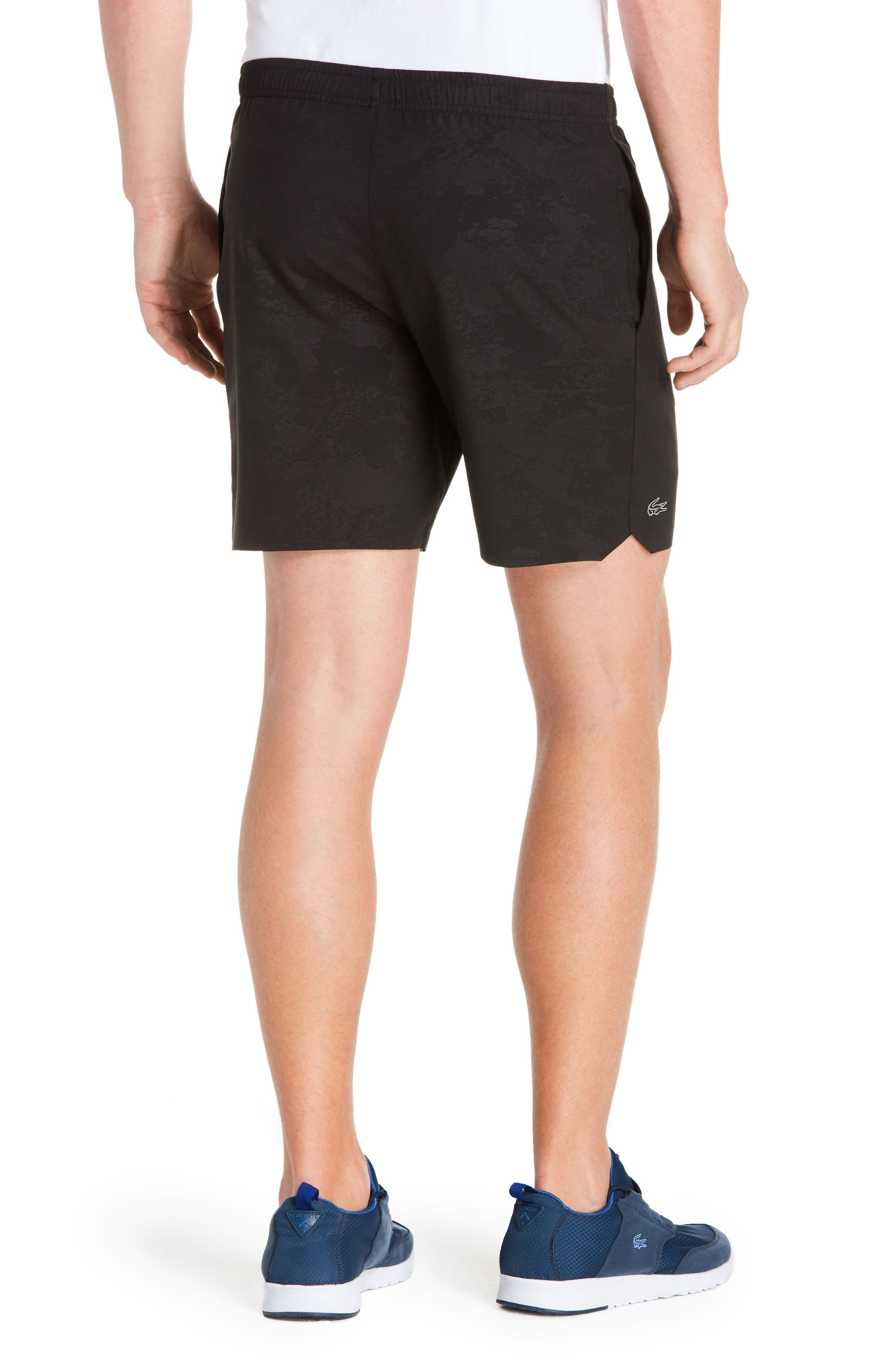 Stretch-Woven Sport Shorts,                             Alternate thumbnail 2, color,                             031 Black