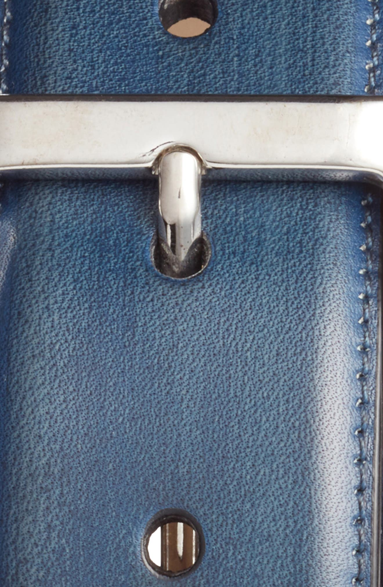 Alternate Image 1 Selected - Mezlan Palma Leather Belt
