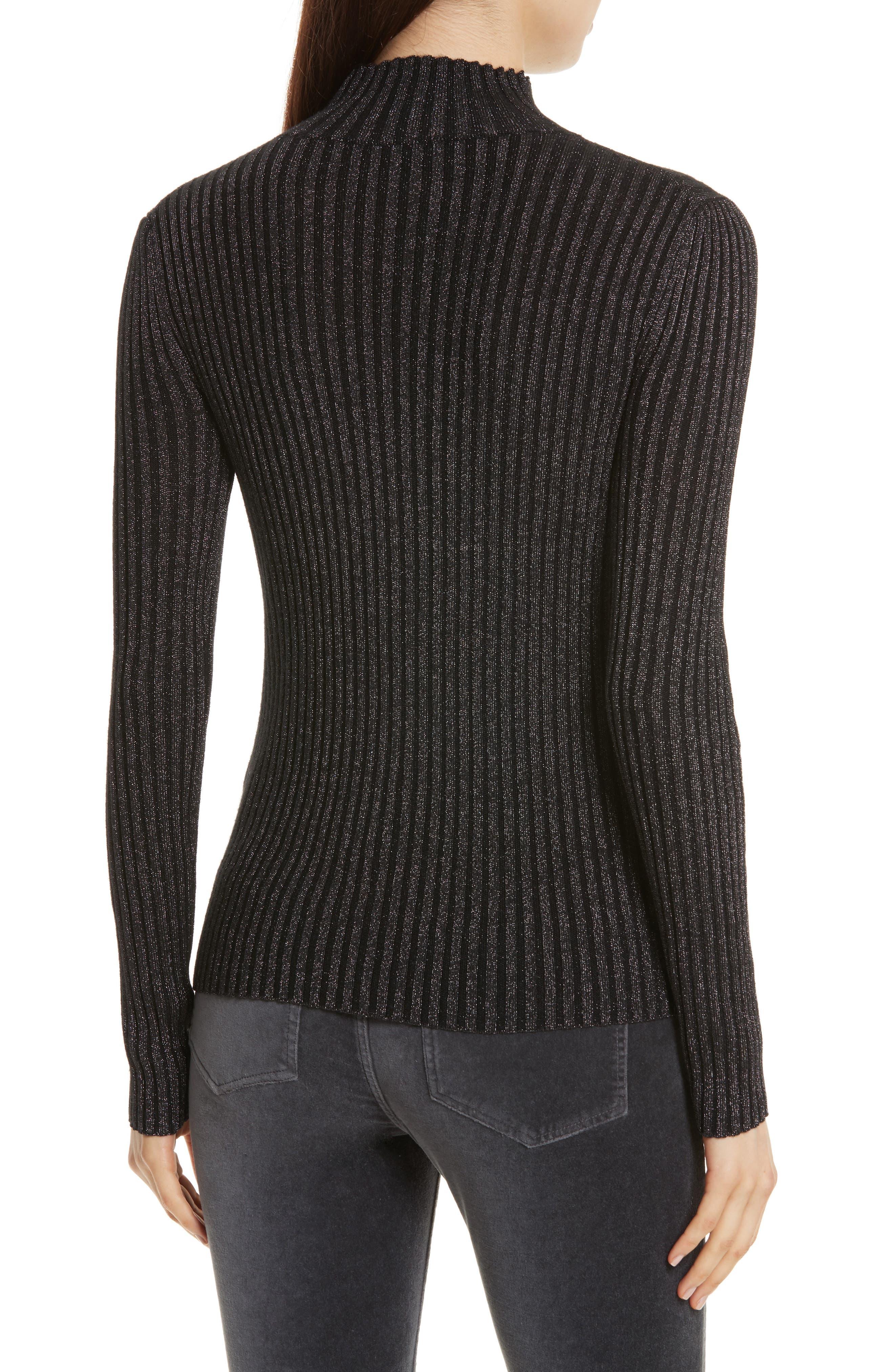 Alternate Image 3  - Rebecca Taylor Rib Turtleneck Pullover