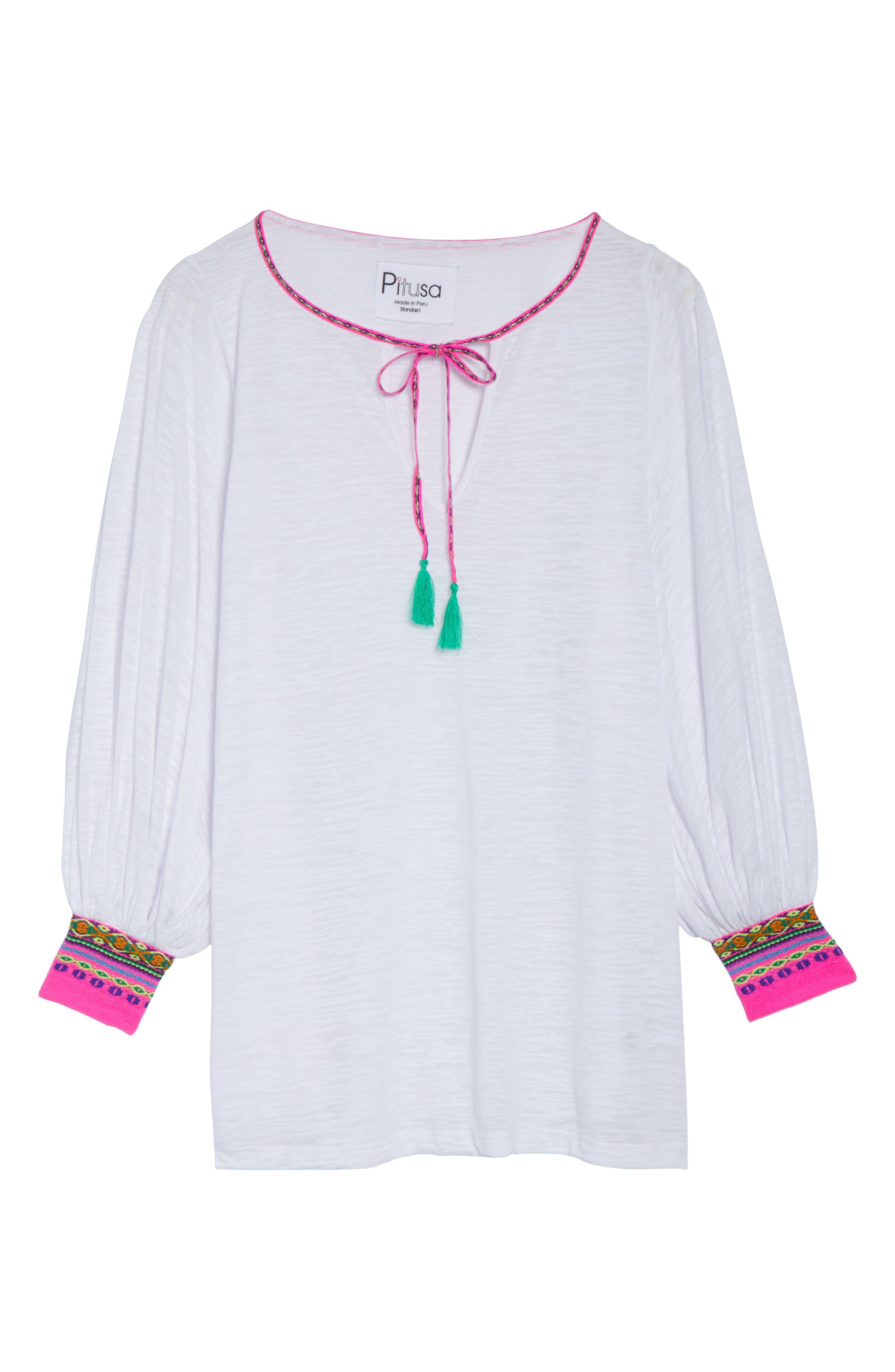 Main Image - PITUSA Inca Cover-Up Dress