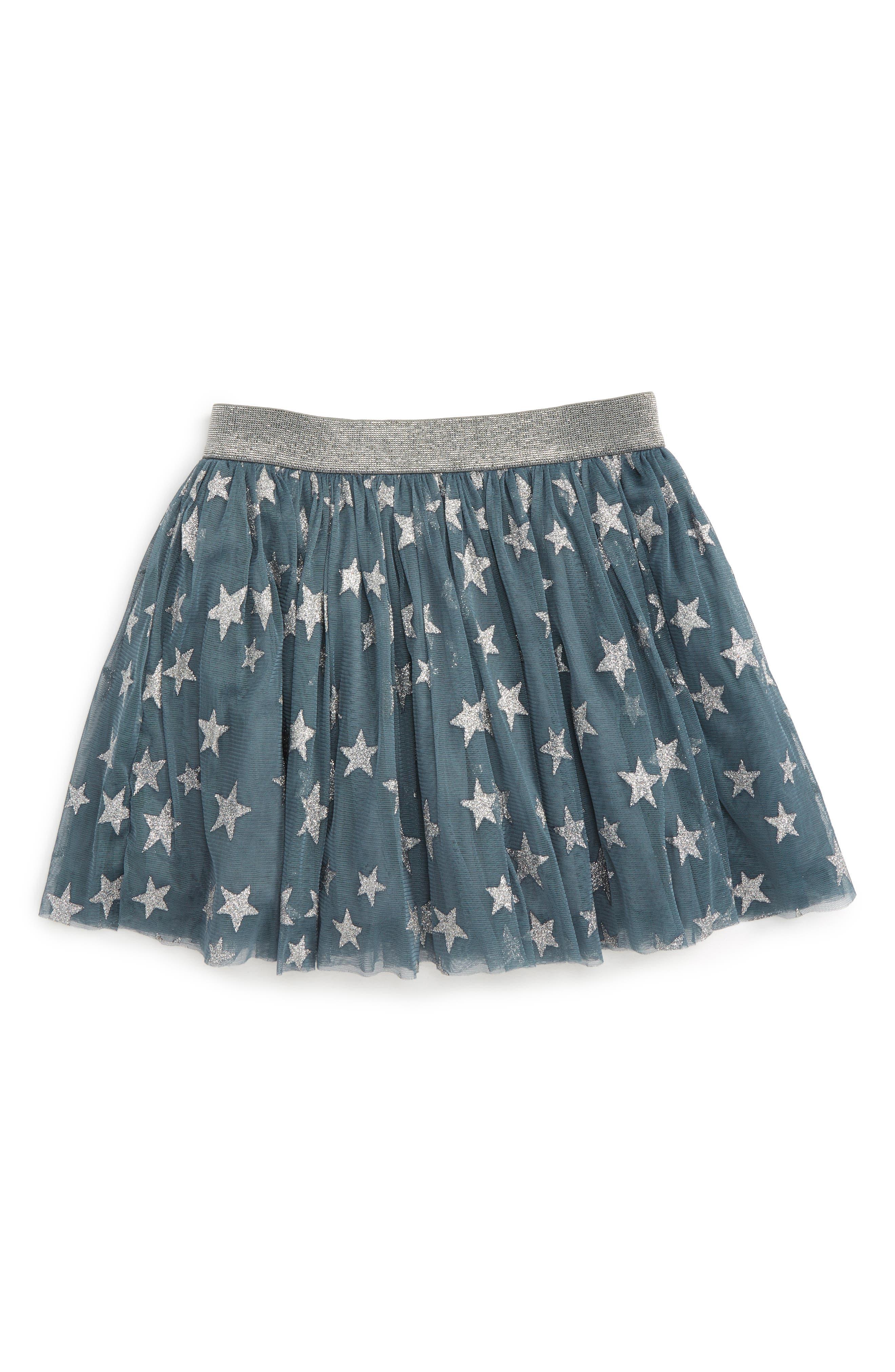 Stella McCartney Kids Honey Glitter Star Tulle Skirt (Little Girls & Big Girls)