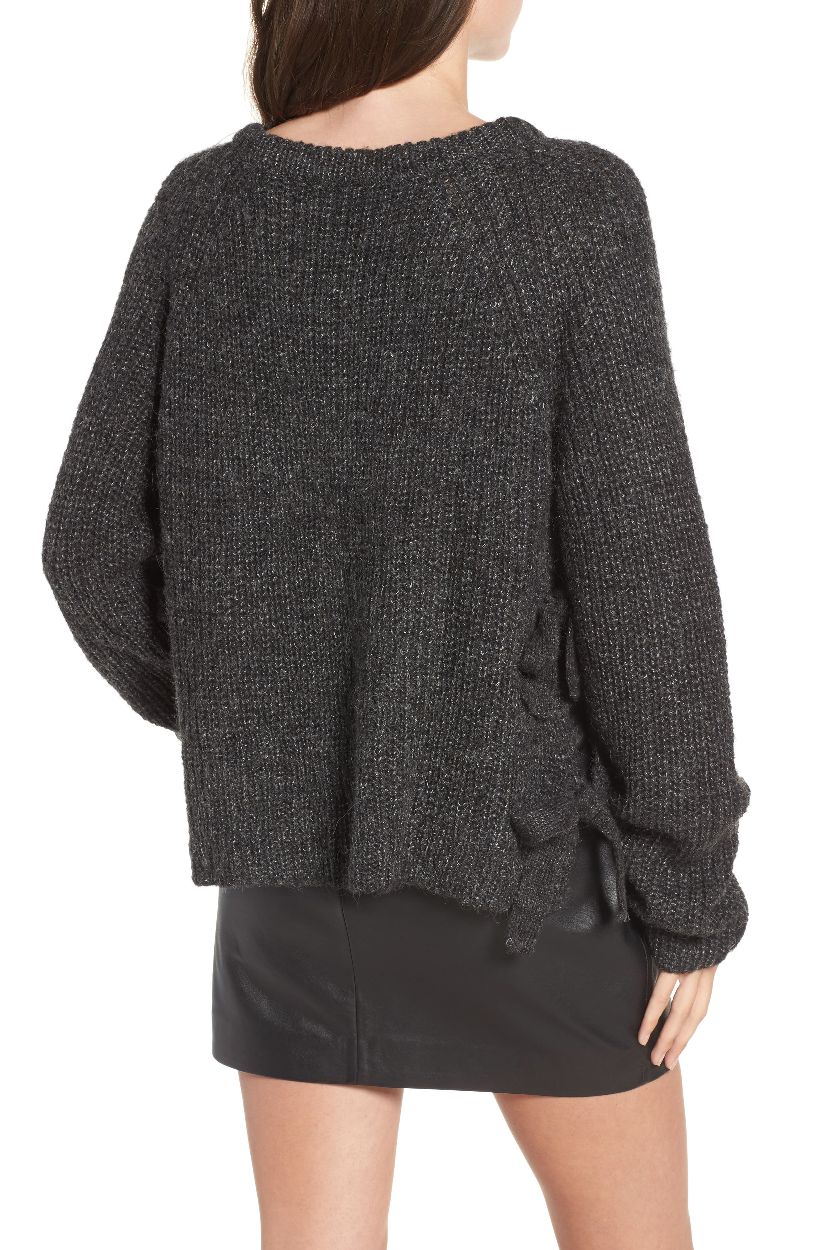Alternate Image 2  - ASTR the Label Lexie Side Tie Sweater