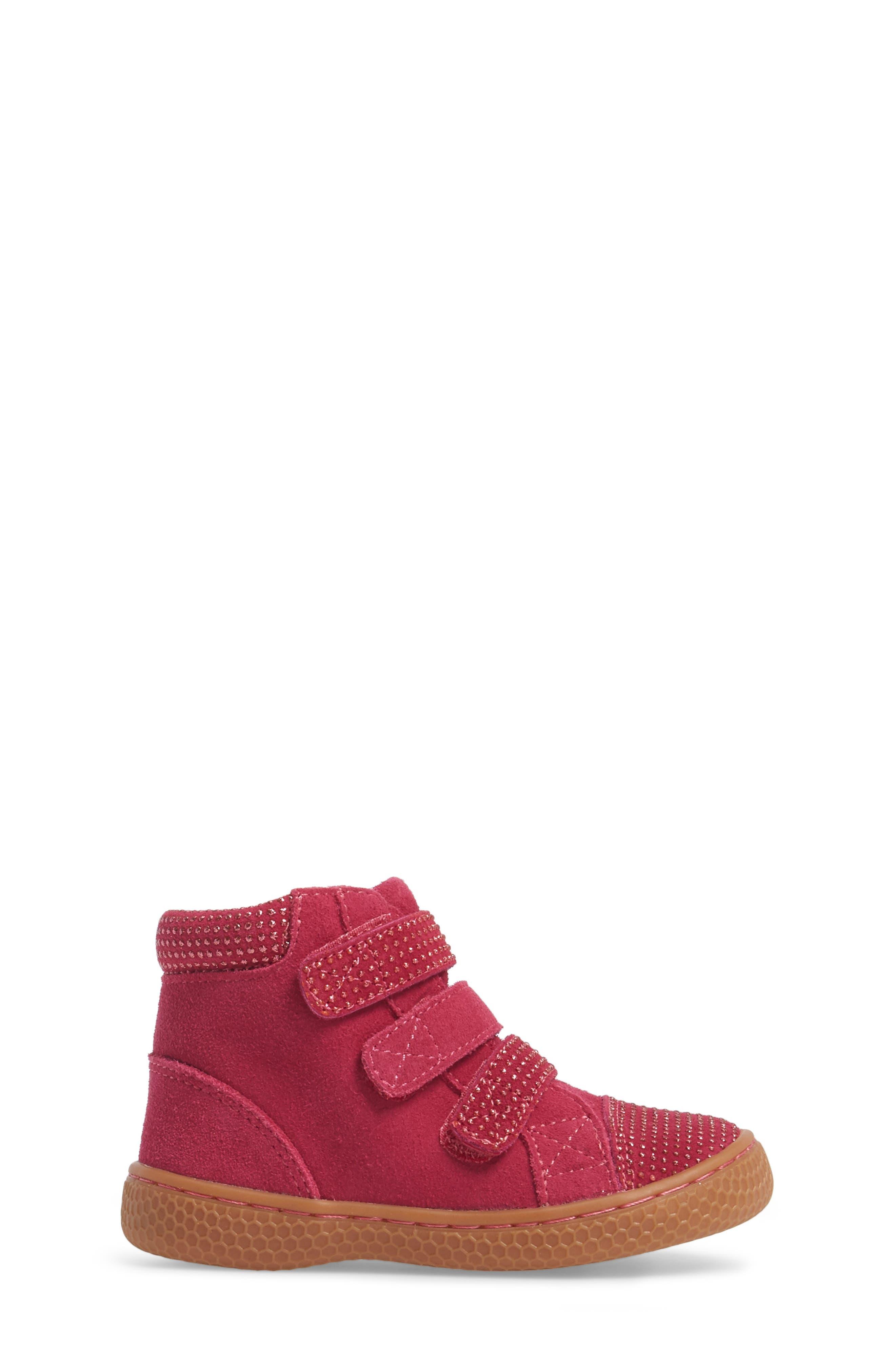 Alternate Image 3  - Livie & Luca 'Jamie' High Top Sneaker (Baby, Walker, Toddler & Little Kid)