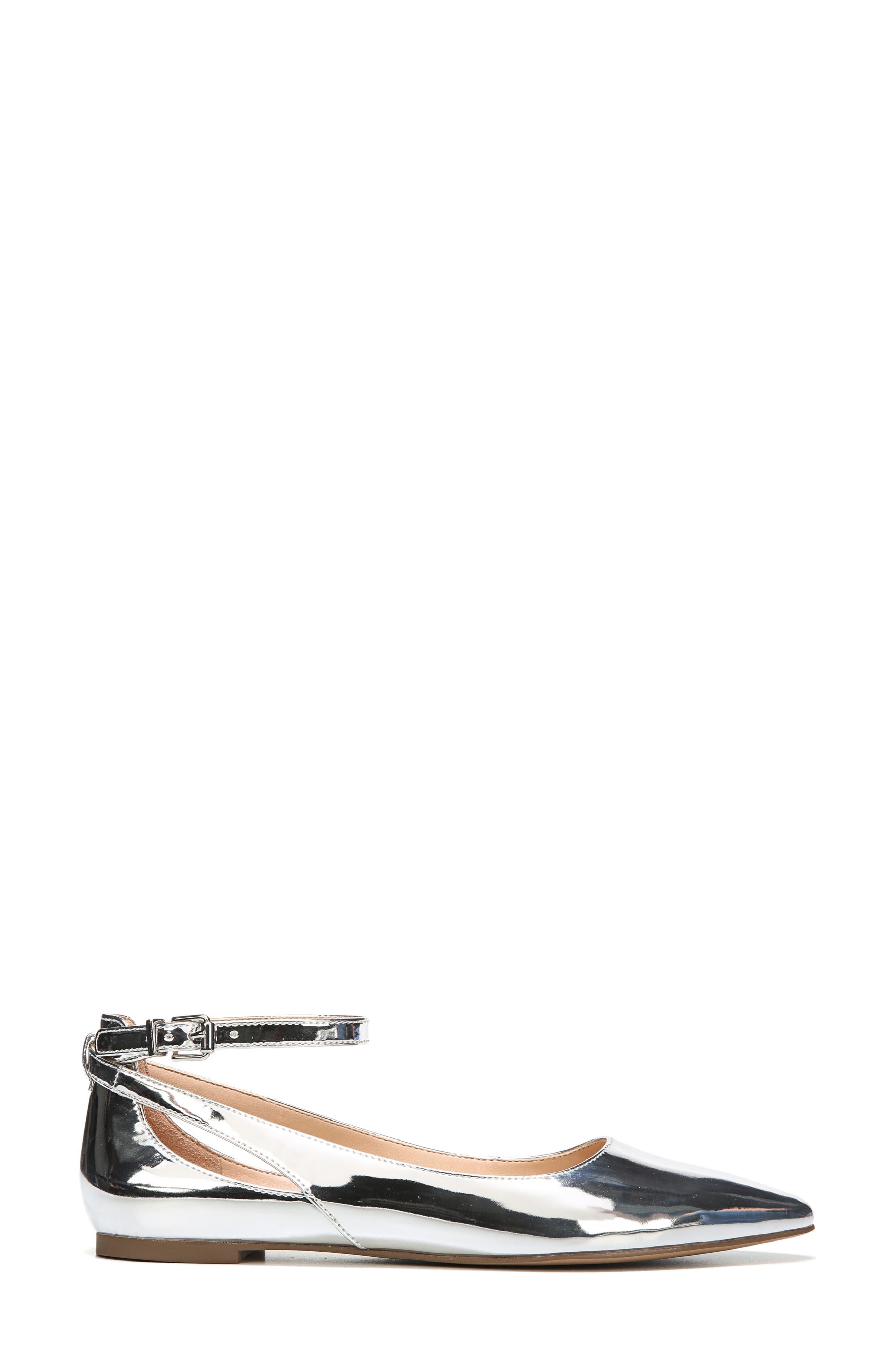 Alternate Image 3  - SARTO by Franco Sarto Sylvia Ankle Strap Flat (Women)