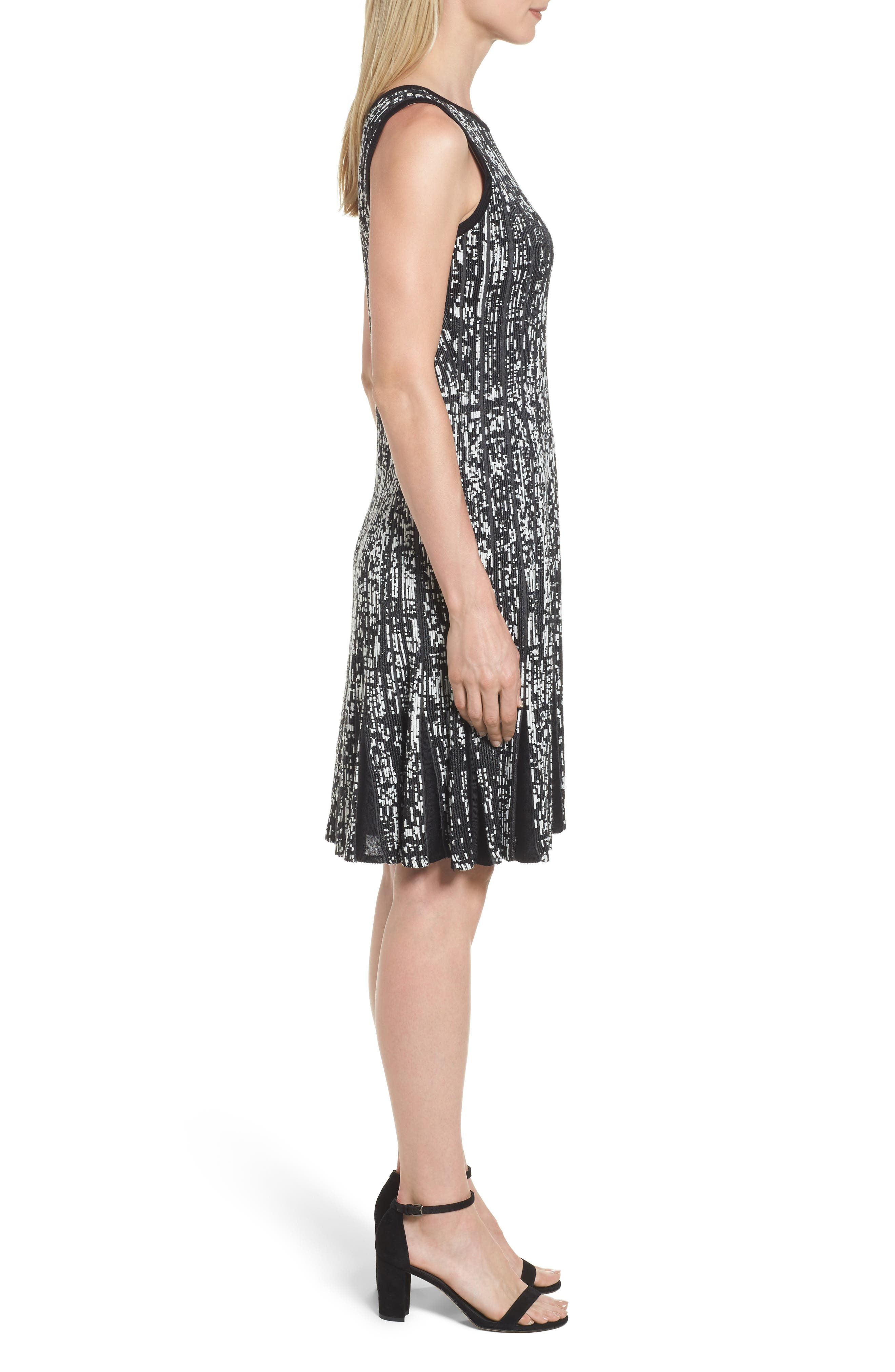 Boulevard Twirl Dress,                             Alternate thumbnail 3, color,                             Multi