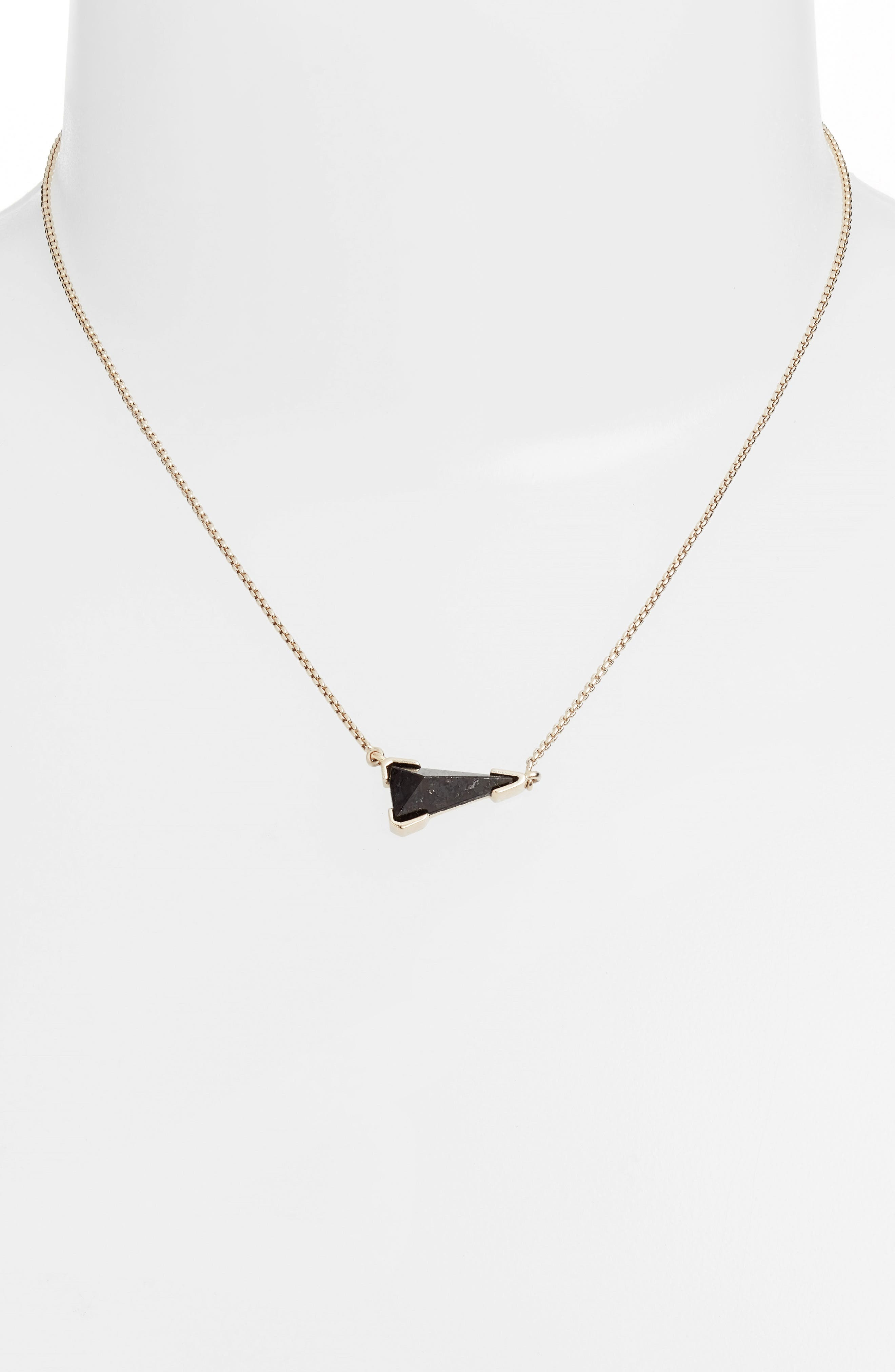 KENDRA SCOTT Racquel Pendant Necklace