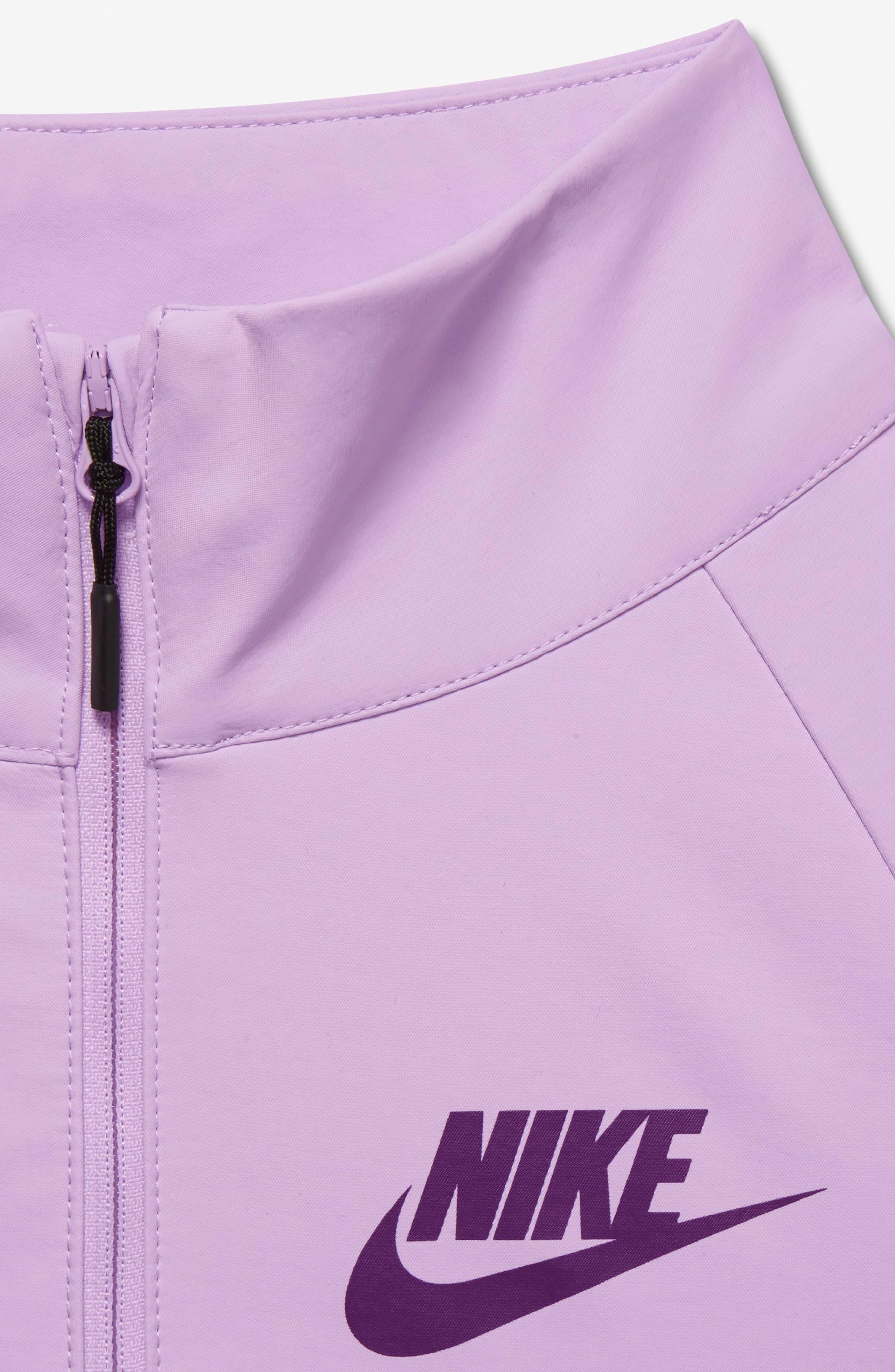 Alternate Image 3  - Nike Tech Water Repellent Jacket (Big Girls)