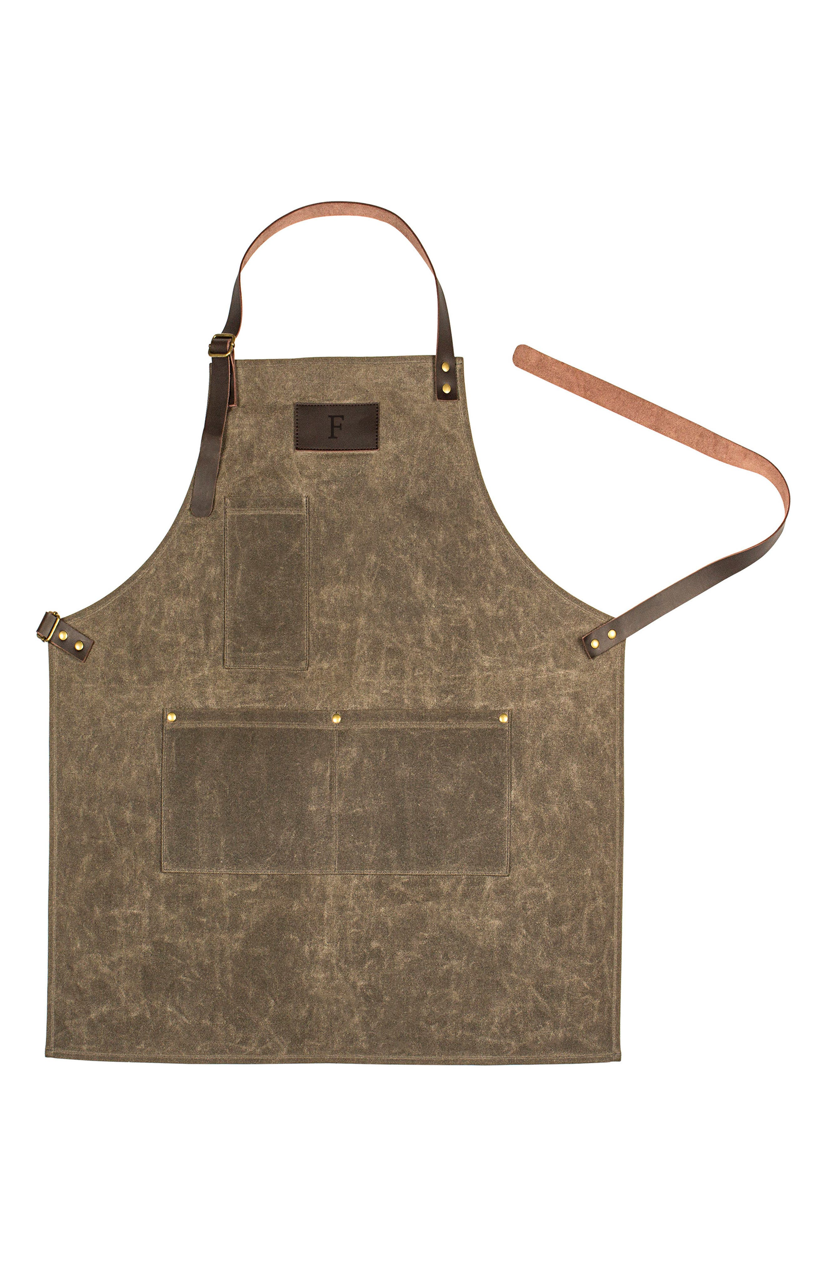 Alternate Image 1 Selected - Cathy's Concepts Monogram Apron