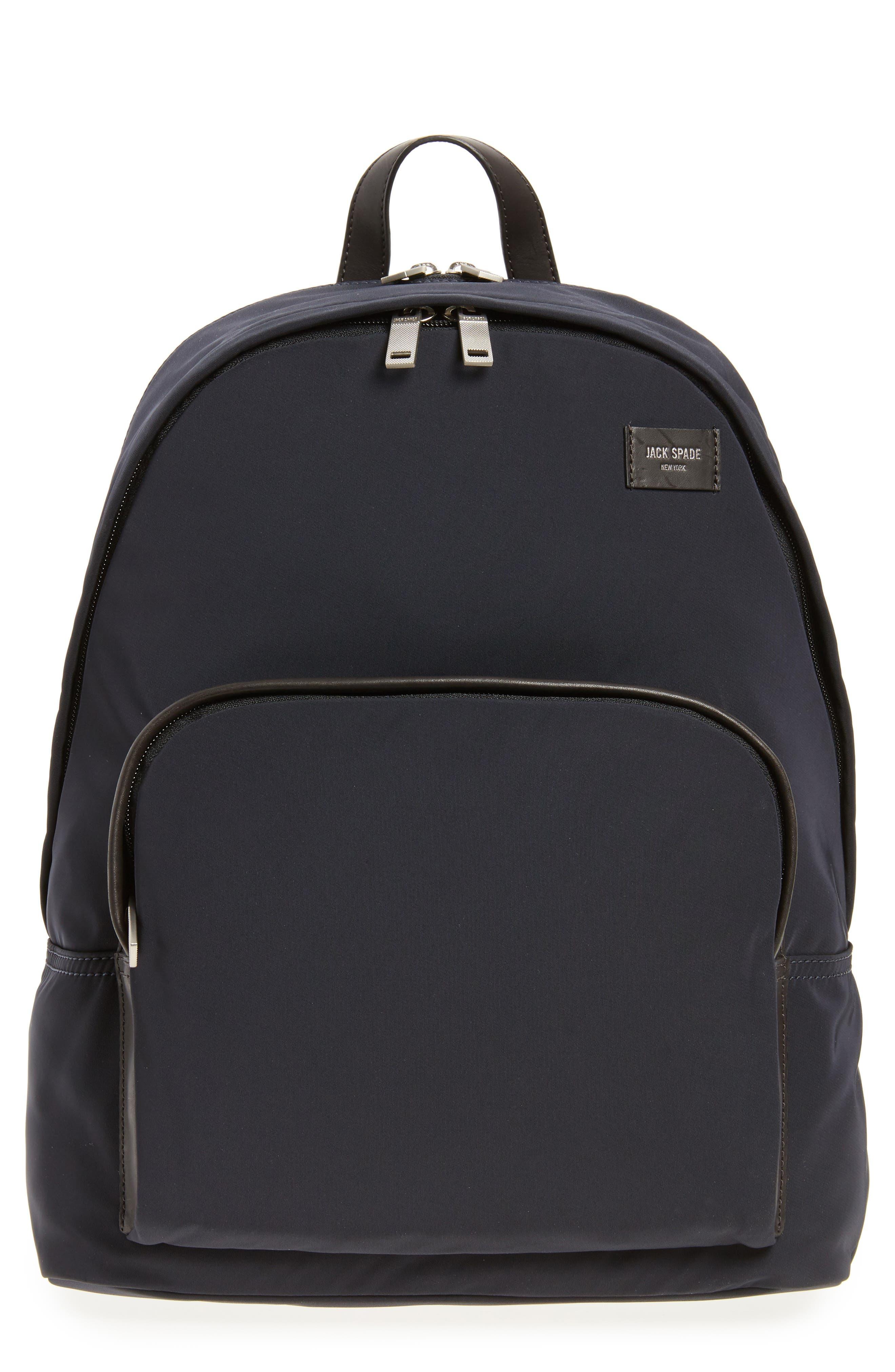 Alternate Image 1 Selected - Jack Spade Twill Backpack
