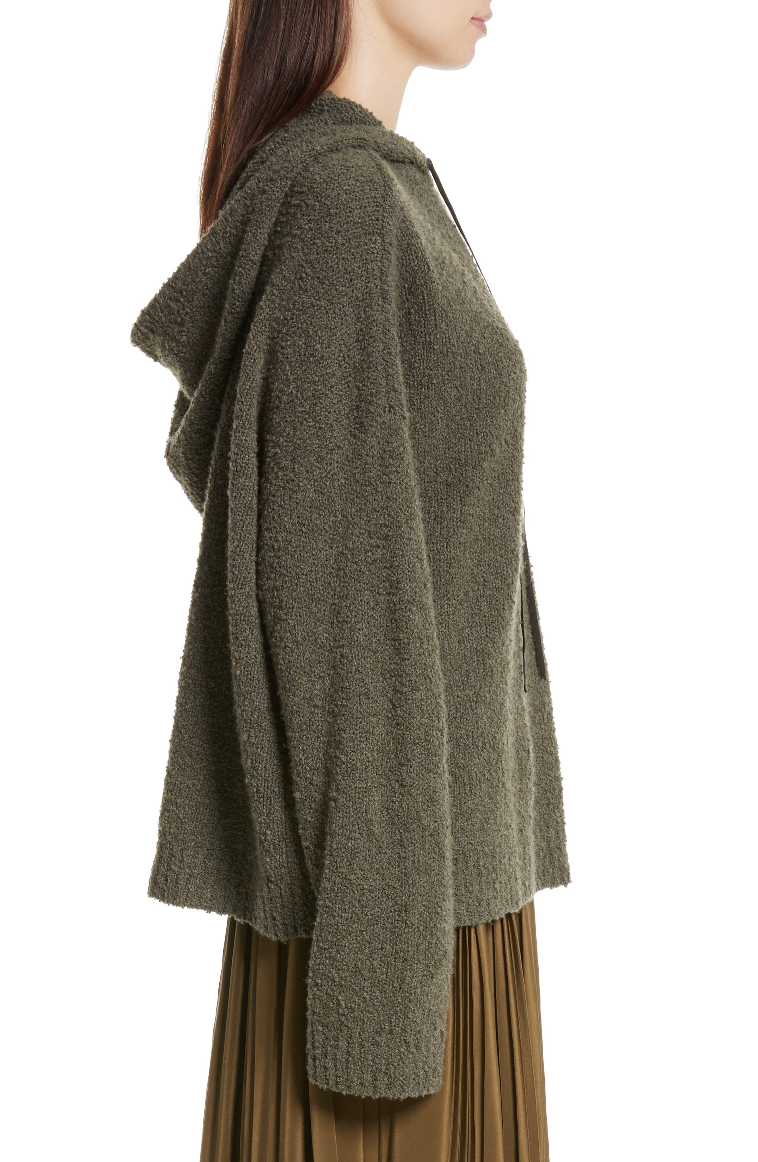 Alternate Image 4  - Robert Rodriguez Merino Wool & Cashmere Reversible Hooded Sweater