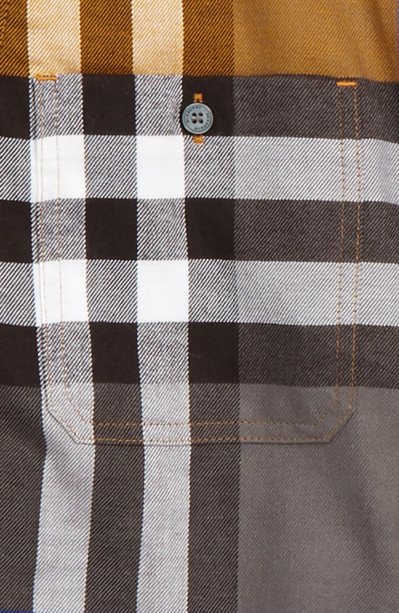 Alternate Image 2  - Burberry 'Mini Camber' Check Long Sleeve Shirt (Little Boys & Big Boys)
