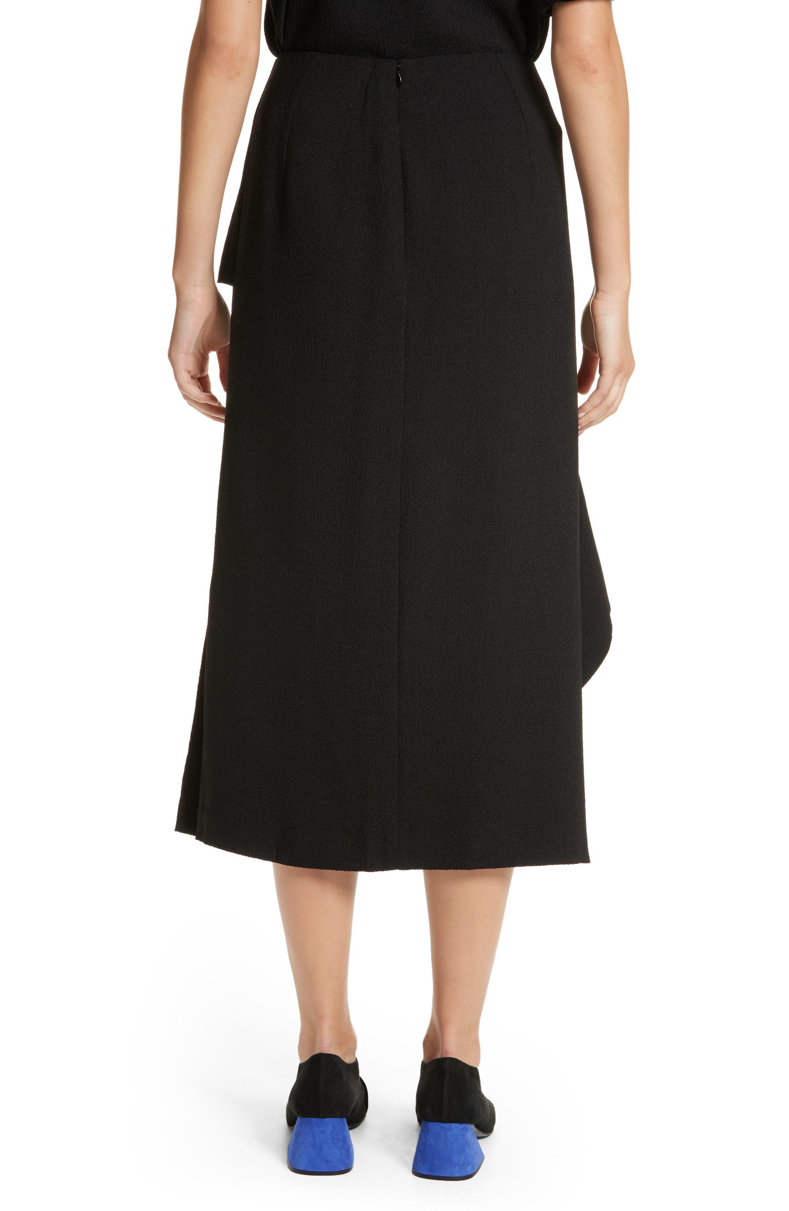 Alternate Image 2  - Rejina Pyo Maude Ruffle Panel Crepe Skirt (Nordstrom Exclusive)